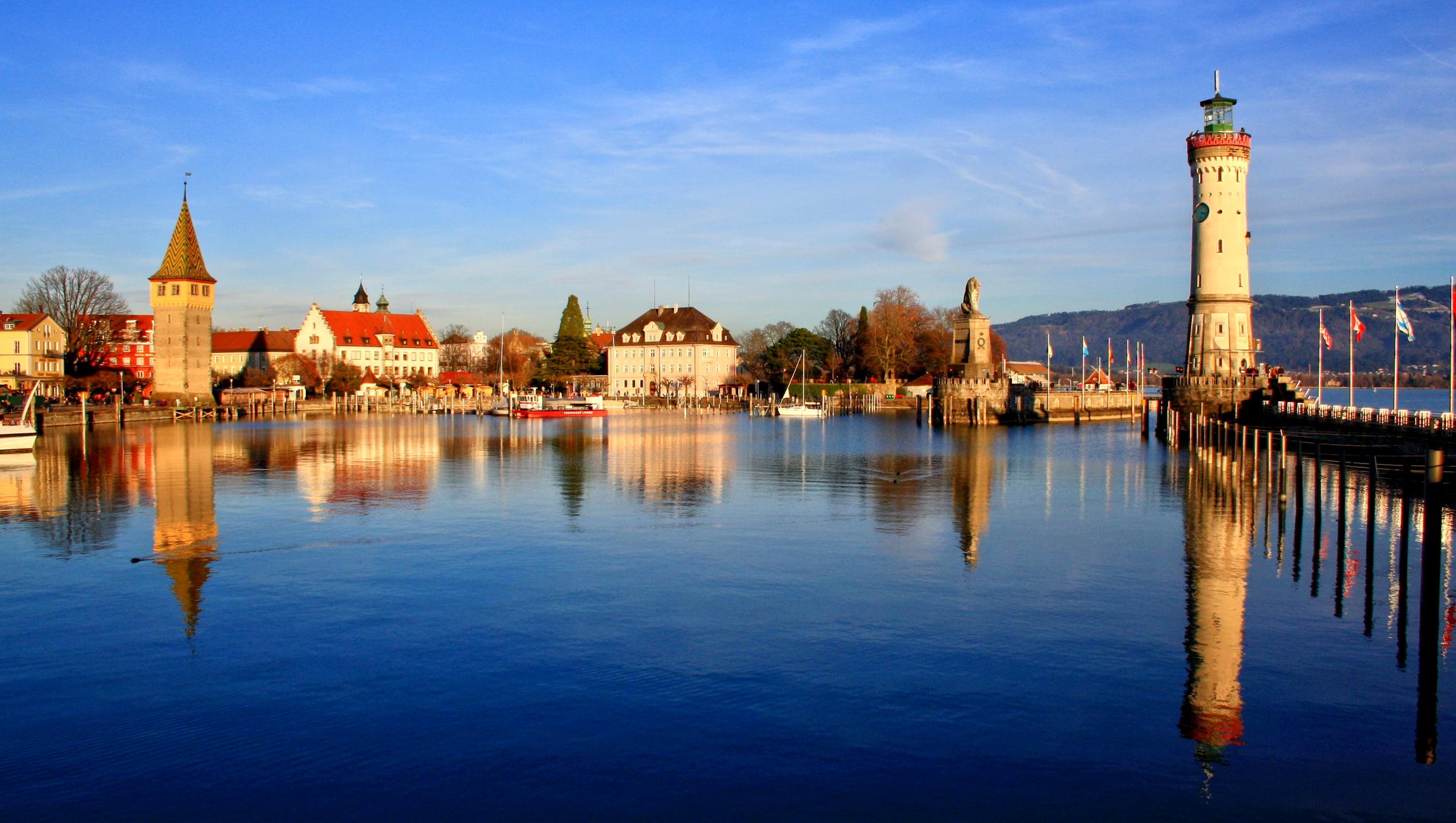 Lorch Village, Hesse, Rhine River, Germany  № 78297  скачать