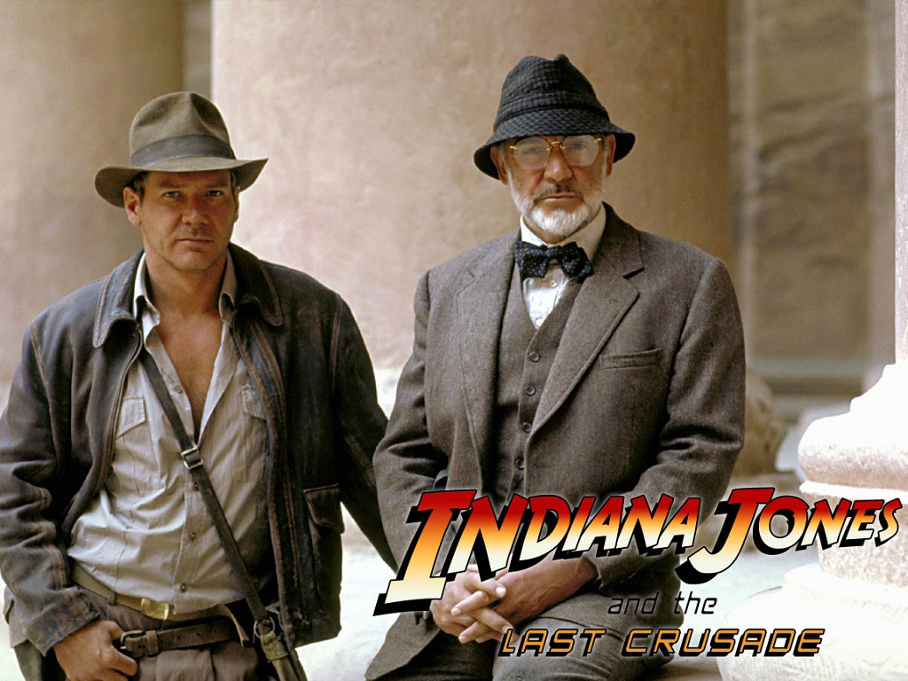 Обои для рабочего стола Индиана Джонс Индиана Джонс и последний крестовый поход Фильмы кино