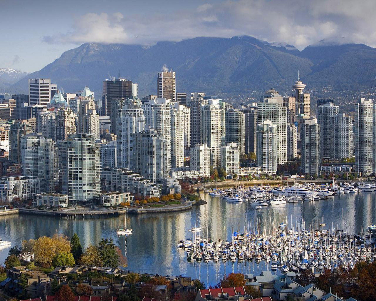Обои дома, canada, vancouver, Канада, Cities. Города foto 6