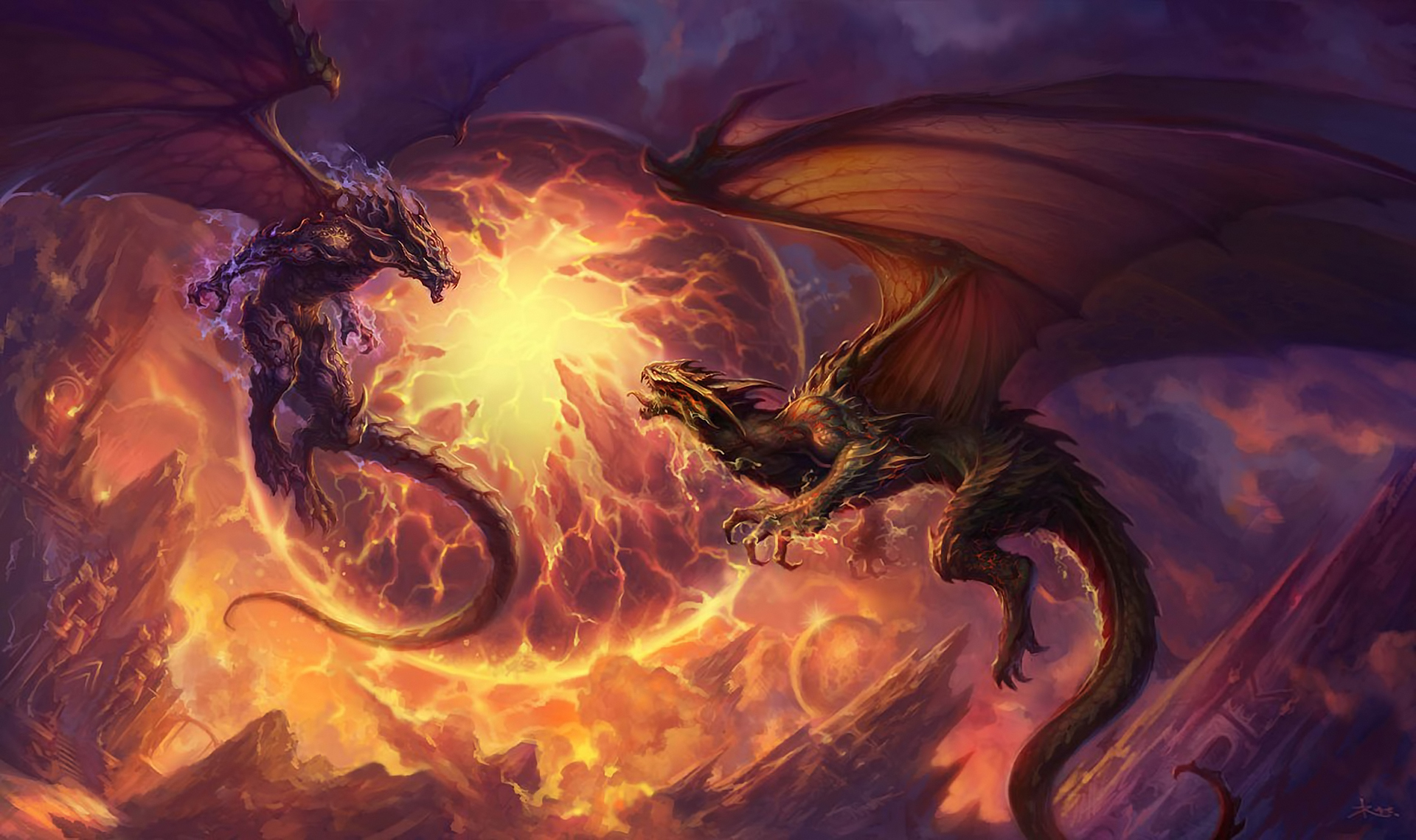 MOVIES page of ULTIMATE SCIENCE FICTION WEB GUIDE - Magic Dragon Space bat angel dragon pictures