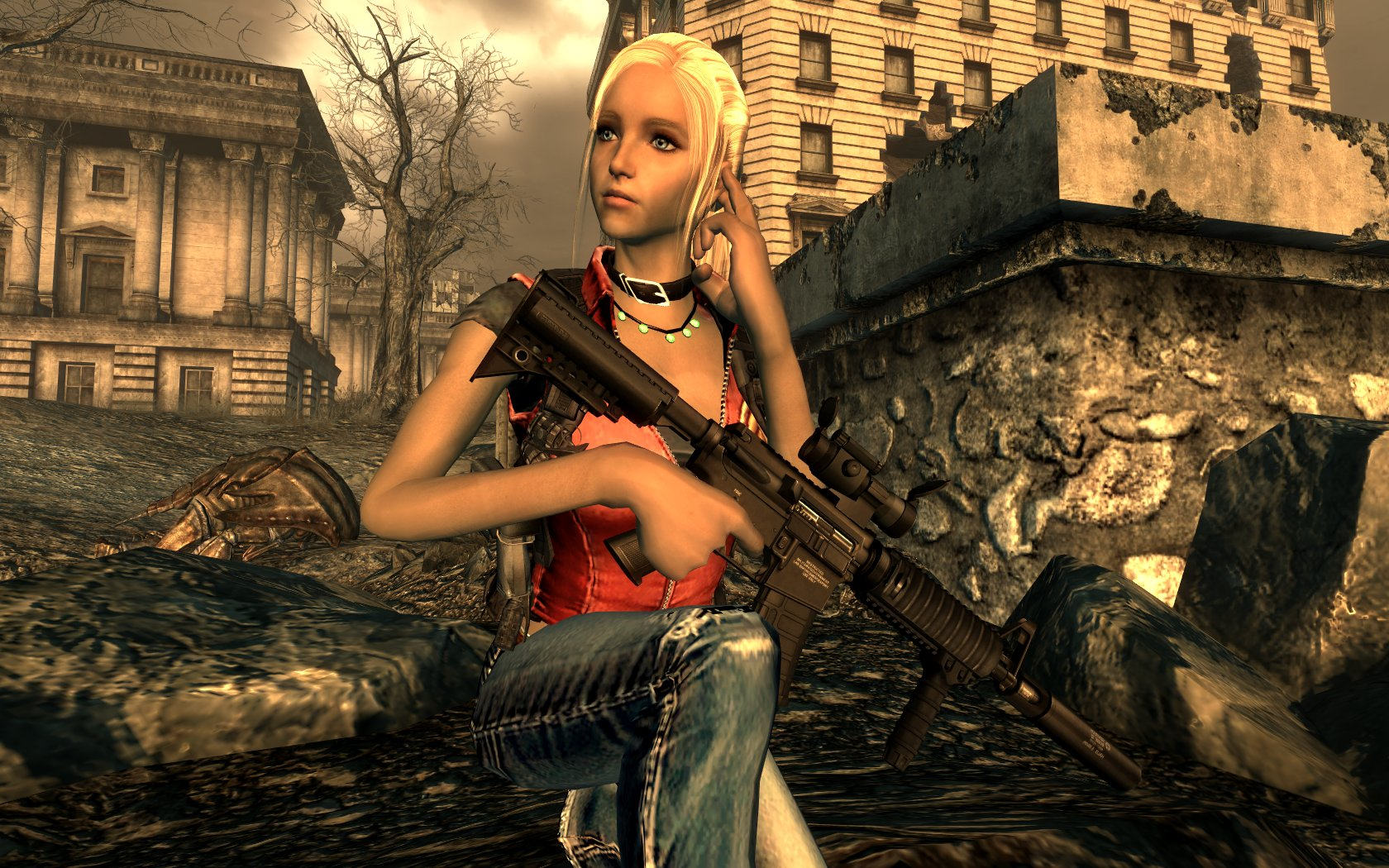 Fallout 3 hentai game erotic scenes