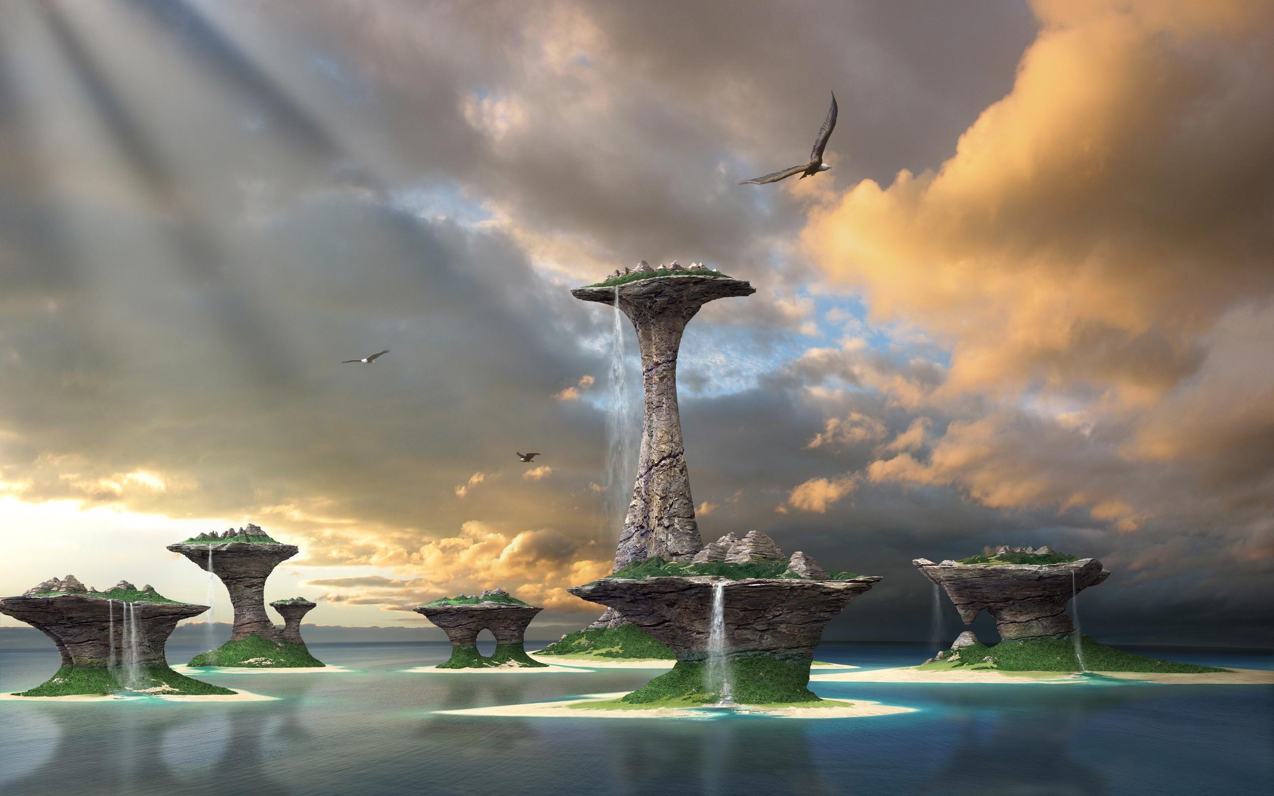 сказочный островок  № 253305 бесплатно