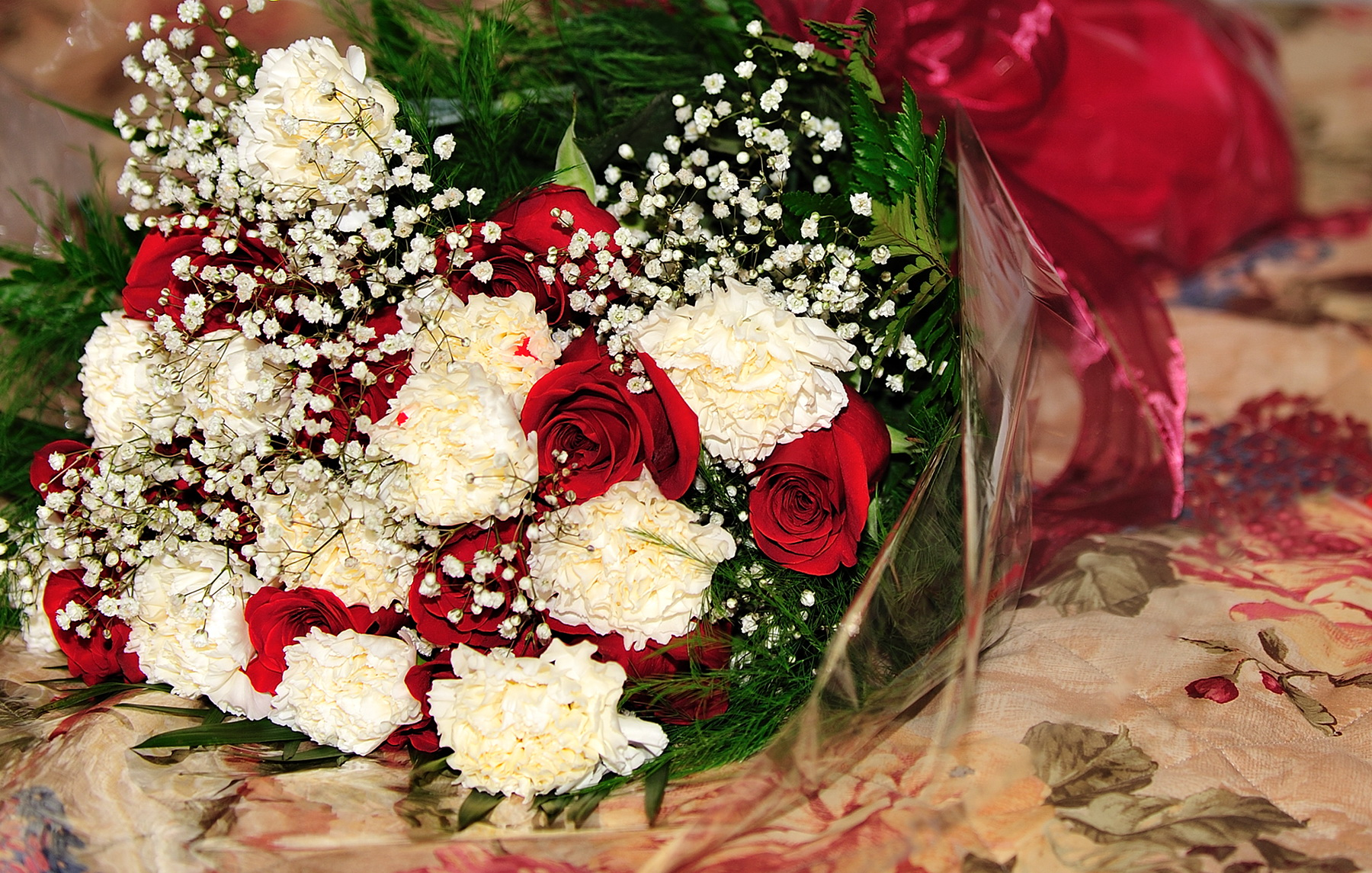 Красивые букеты цветов в домашних условиях 146