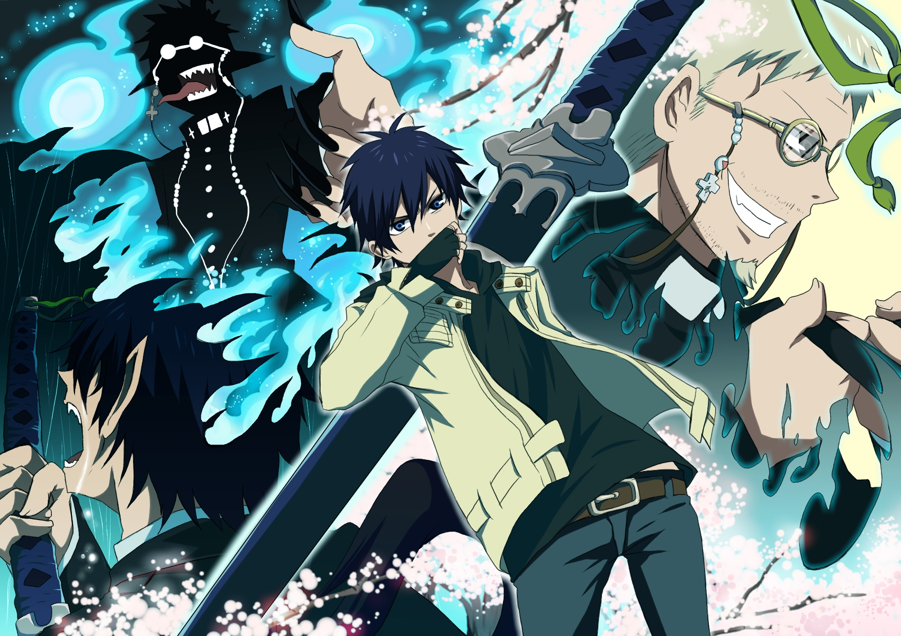 This review is for the Kindle version I was first introduced to Blue Exorcist through the anime in Spring 2011 I loved it so much that I started reading the manga