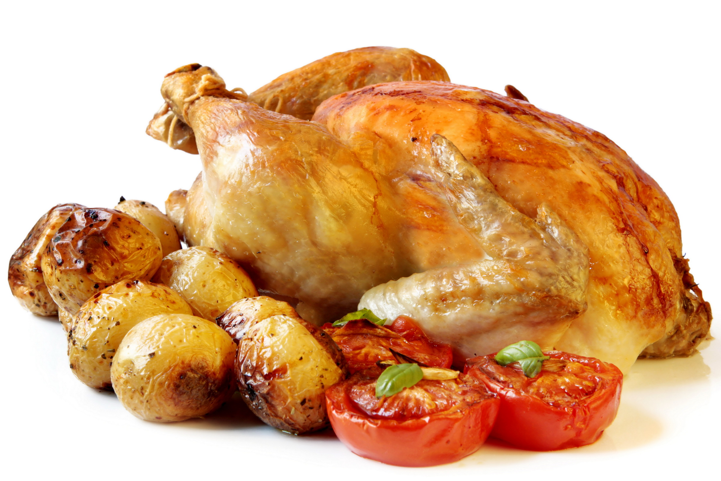 Whole chicken dishes
