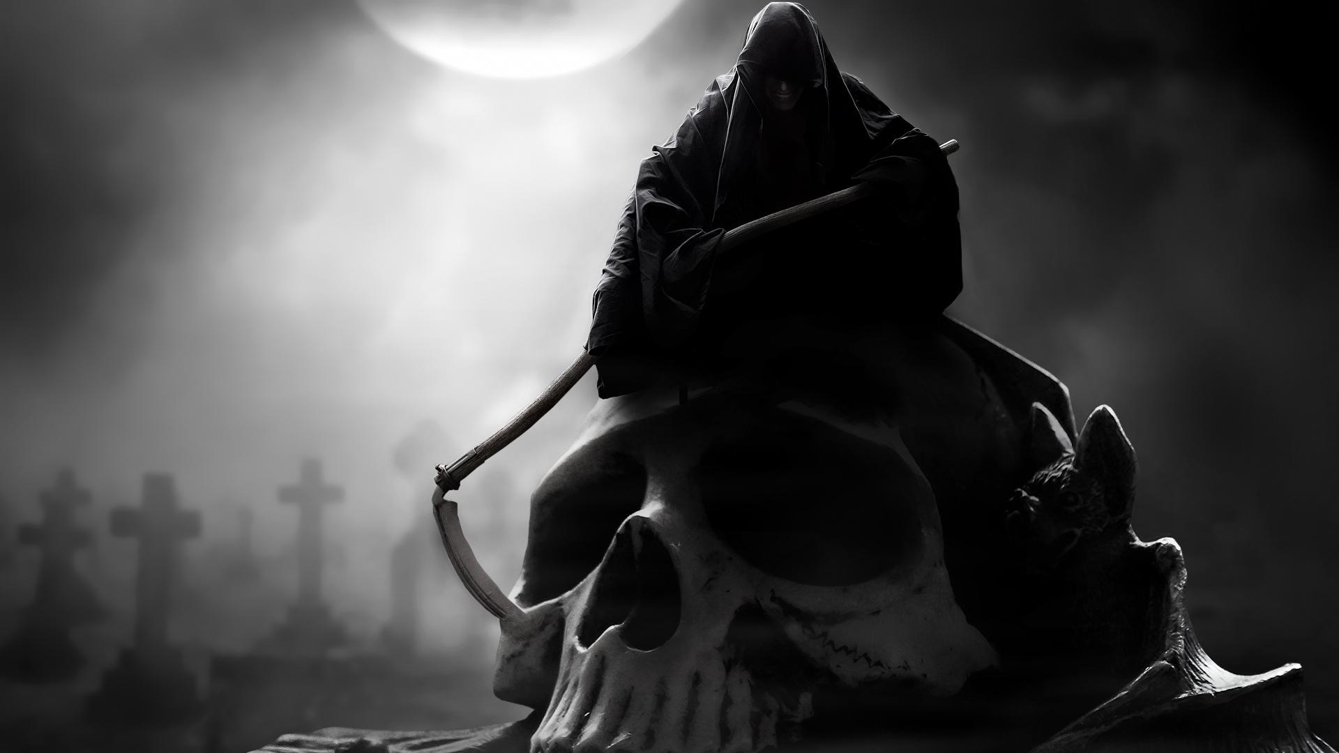 Фото картинок смерть с косой 18 фотография