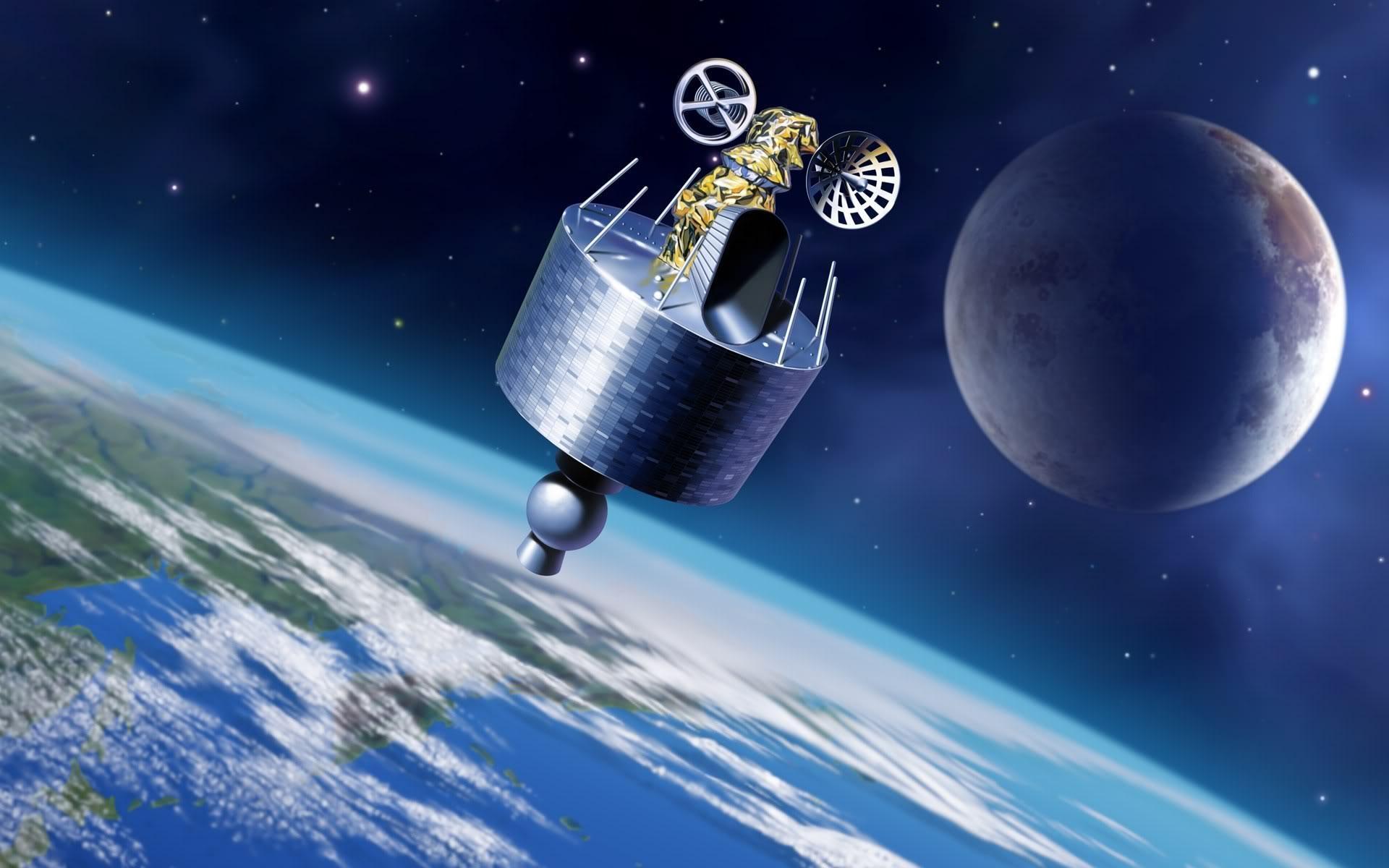 Обои Планеты и спутники над землей картинки на рабочий стол на тему Космос - скачать скачать