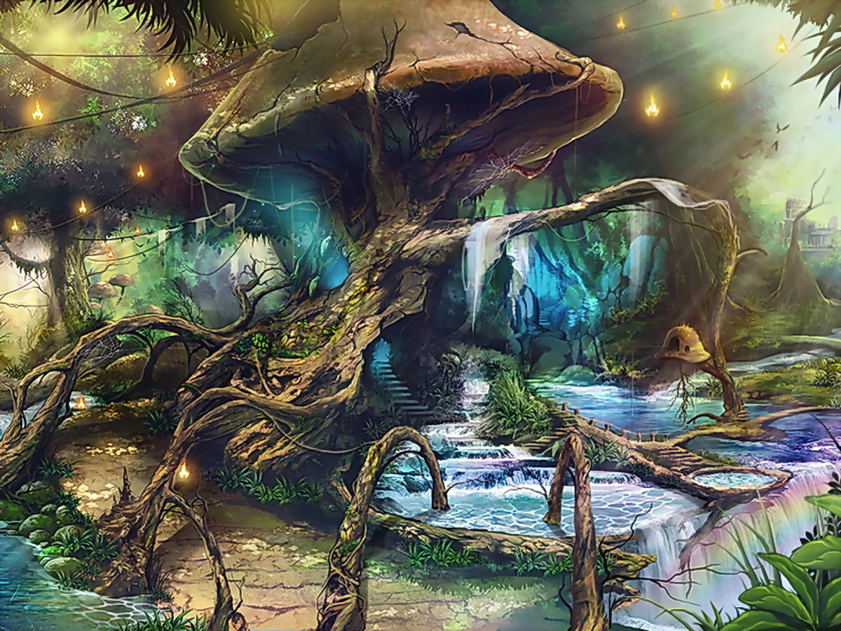 В глубине леса, в непроходимой чащобе спрятана хижина Мердо