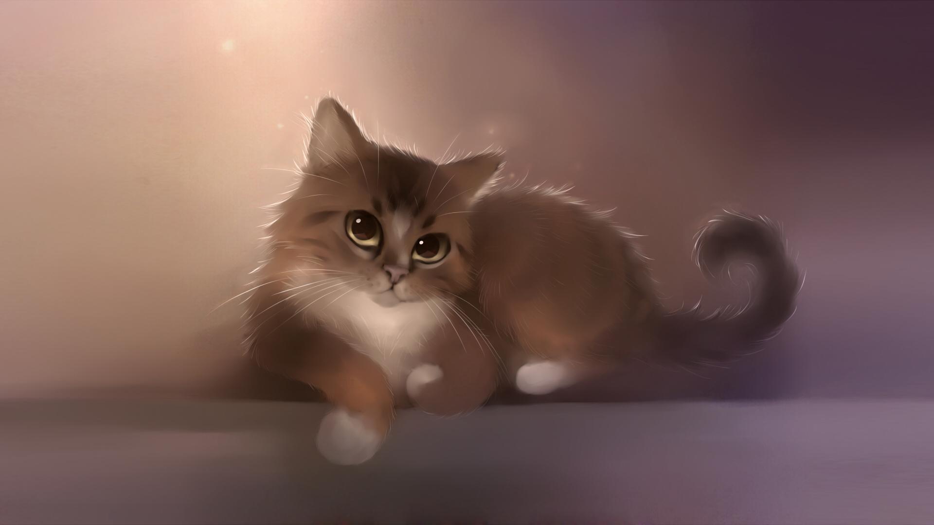 котенок взгляд милый kitten view cute без смс