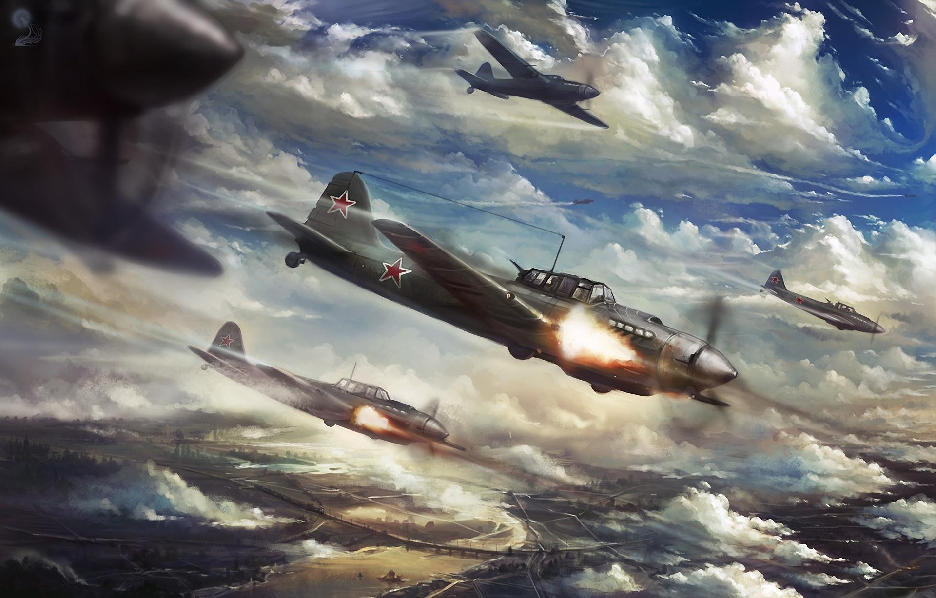Воздушный бой  № 2373009  скачать