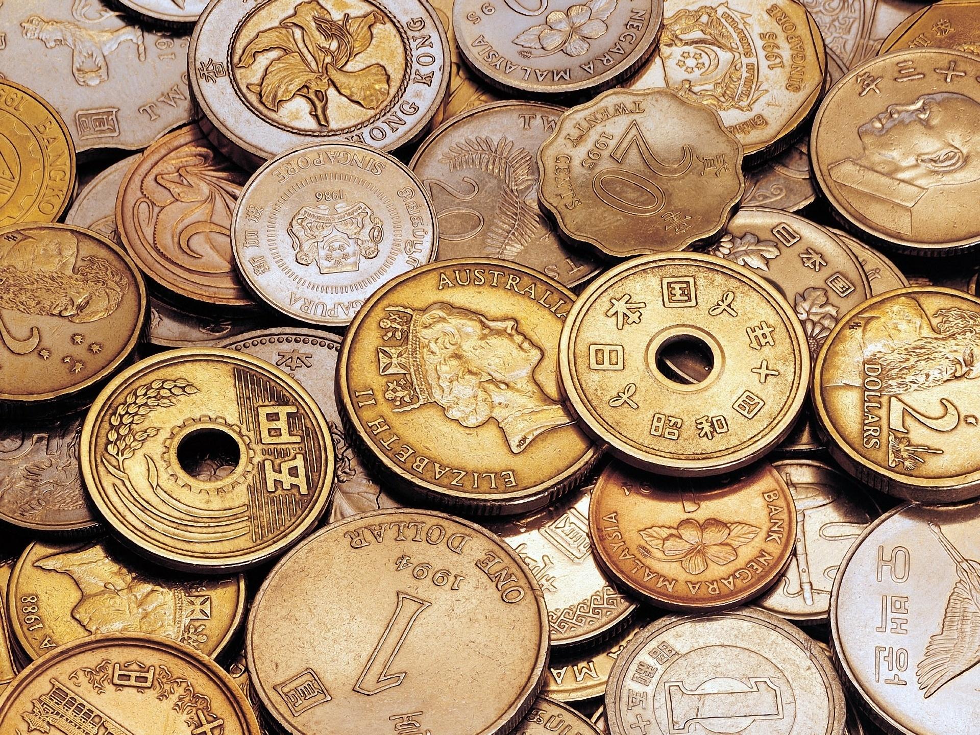 Деньги, много, азиатские, фон, монеты, иероглифы картинки на.