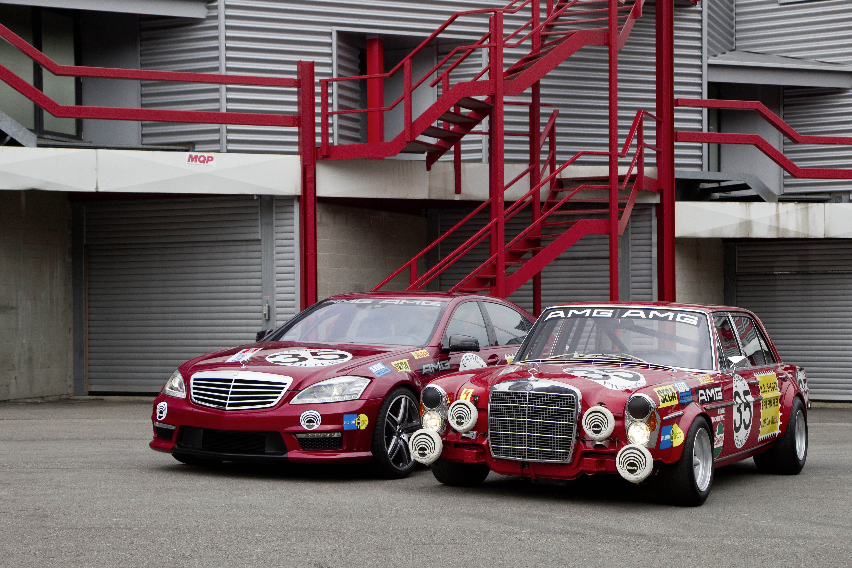 Mercedes-Benz синий гараж загрузить