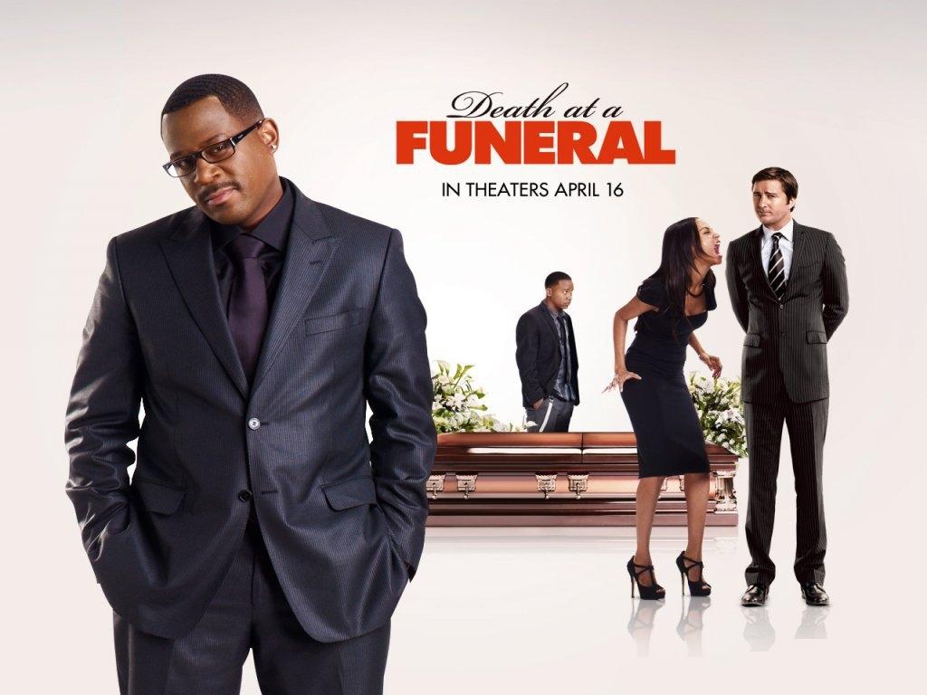 Обои для рабочего стола Смерть на похоронах кино Фильмы