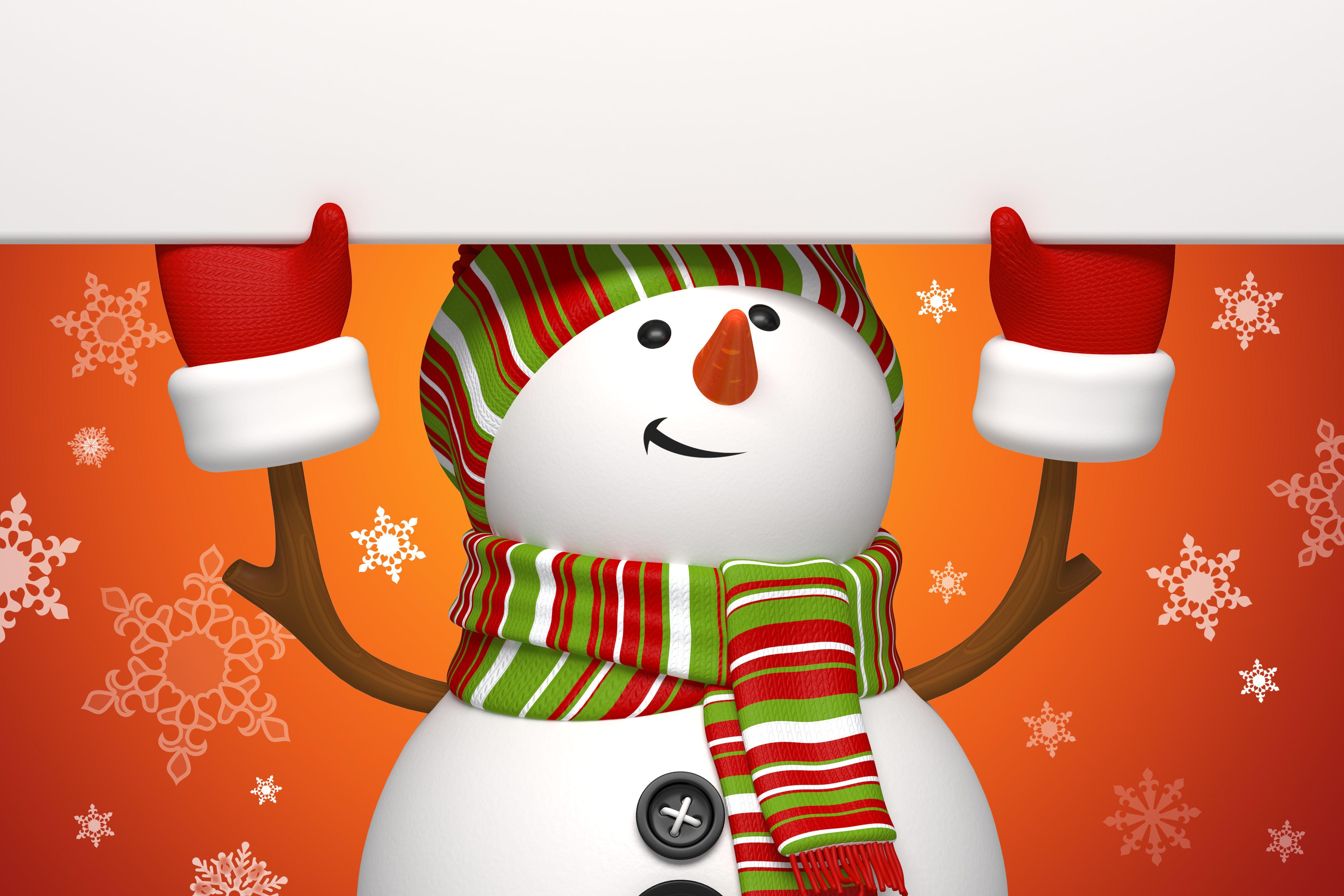 Снеговик на сноуборде  № 3290193  скачать