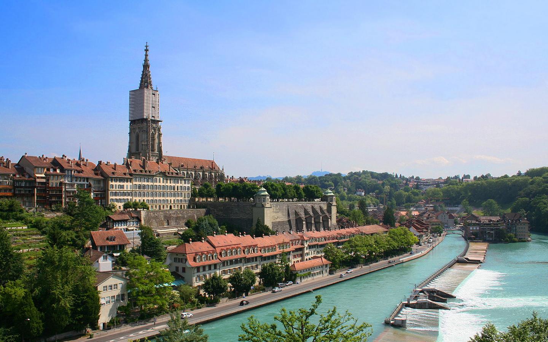 Швейцария Берн достопримечательности фото и названия