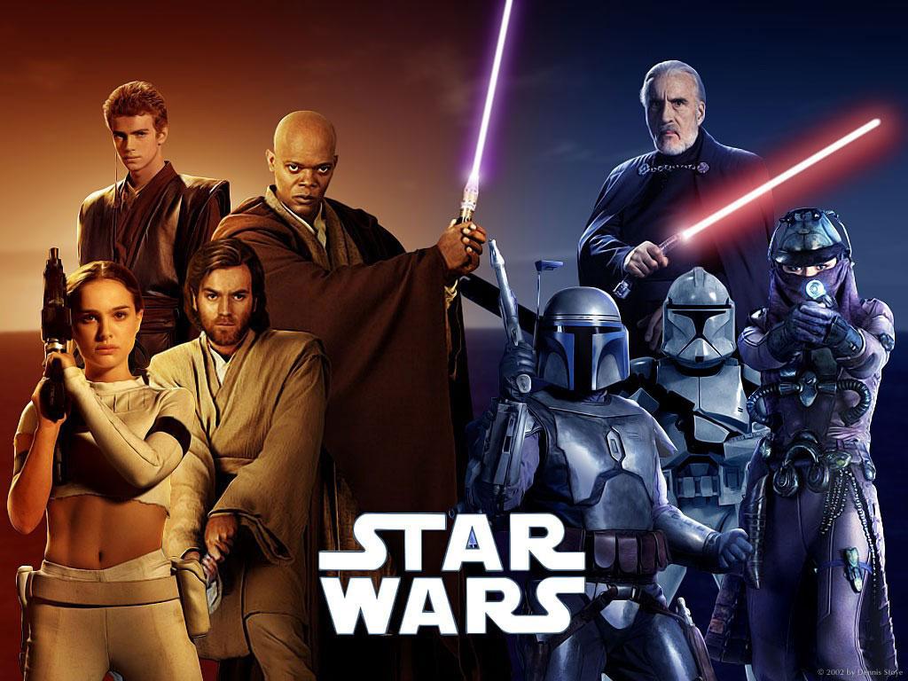 Картинка Звездные войны Звездные войны Эпизод 2 - Атака клонов кино Фильмы