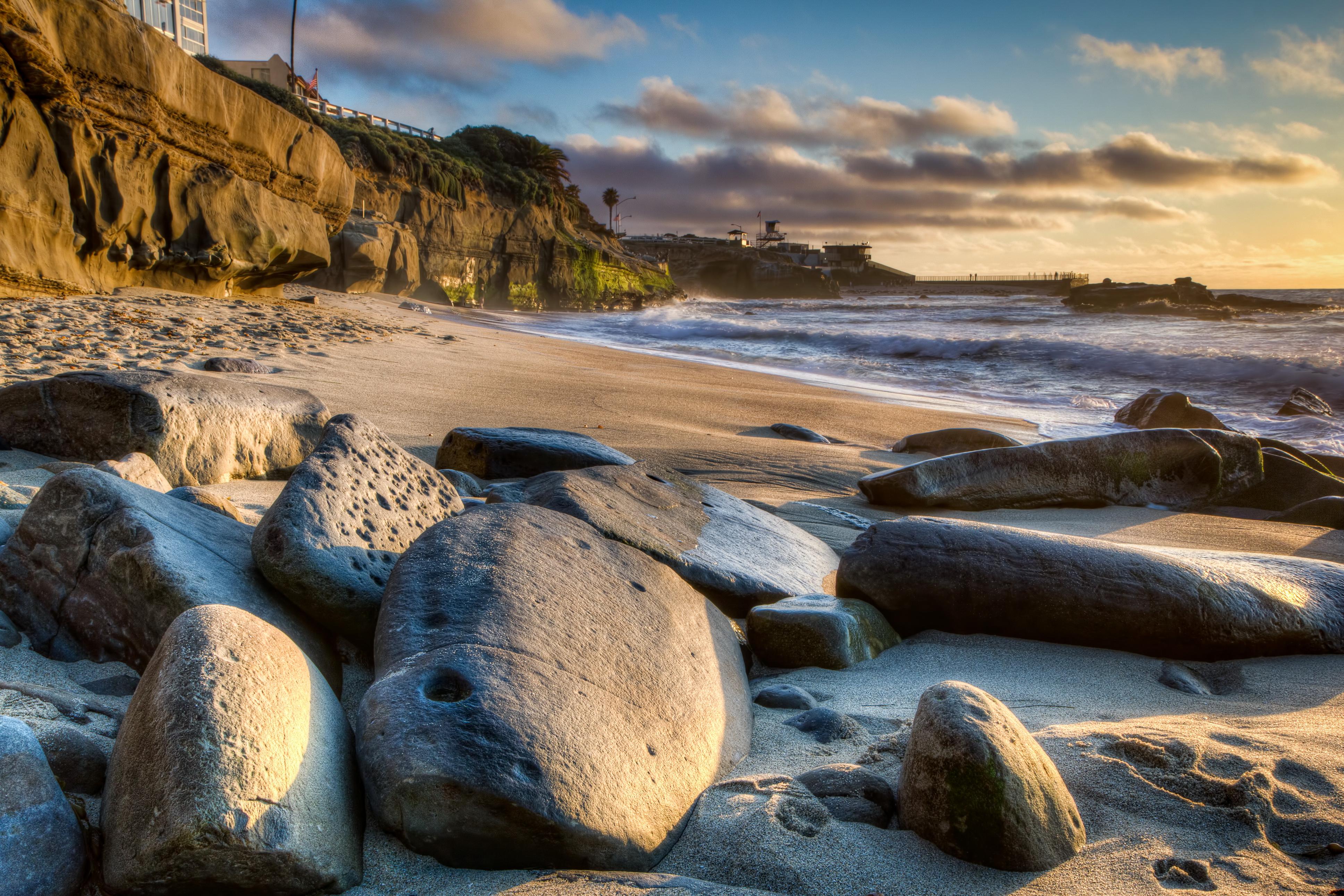берег песок камушки без смс