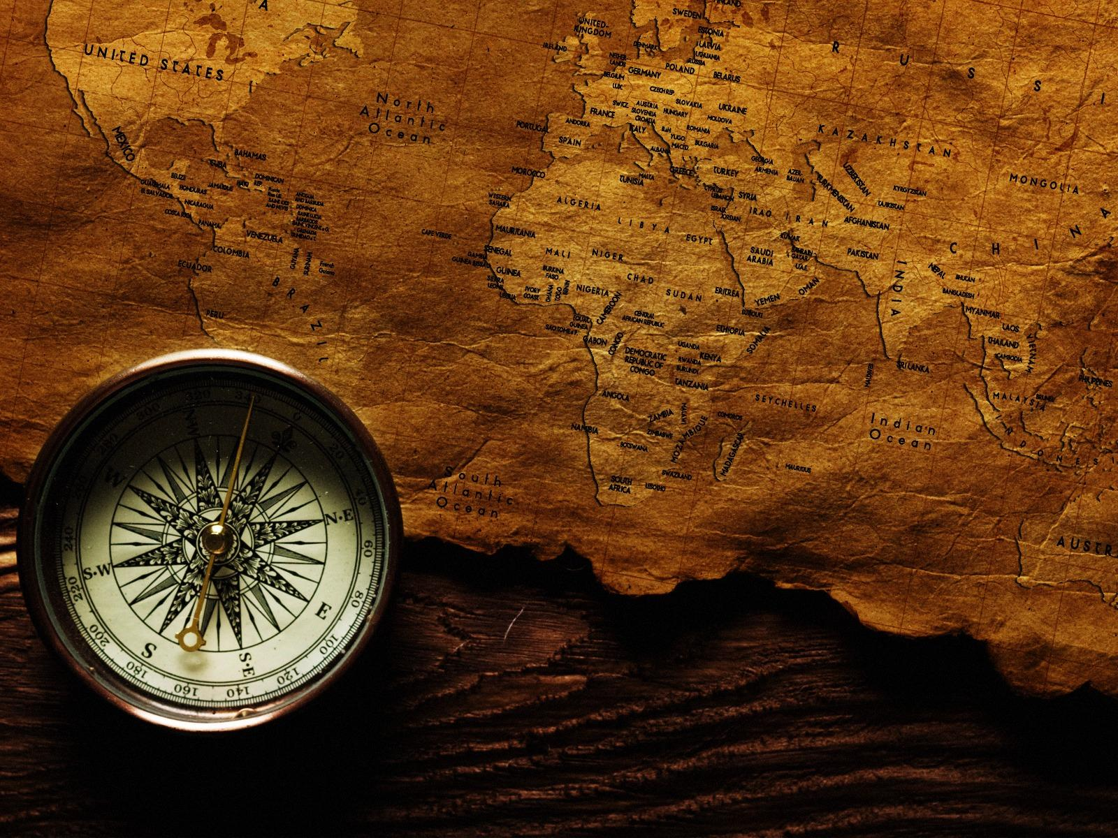 Картинка Компас География компаса