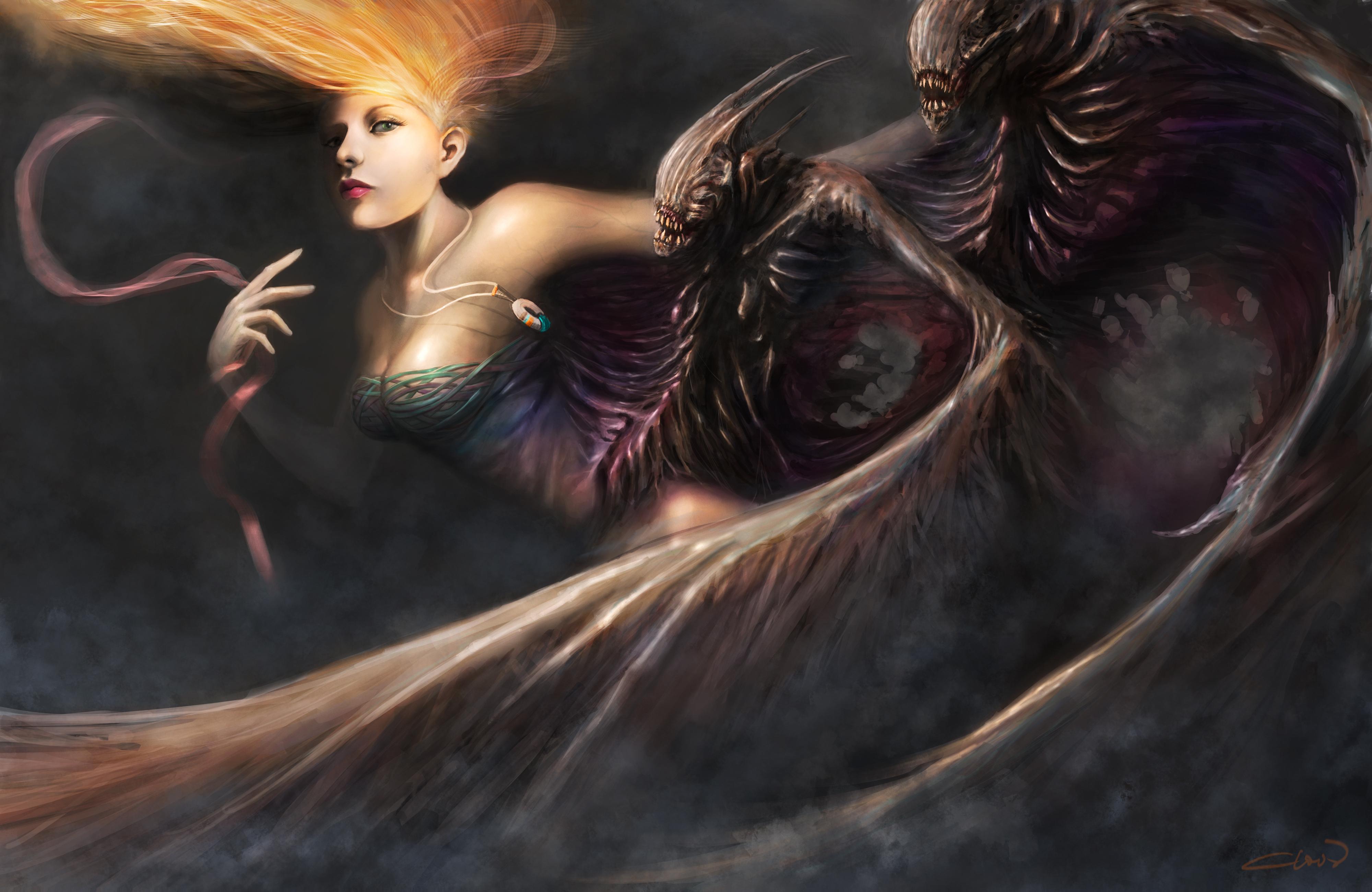 фантастика демон крылья загрузить