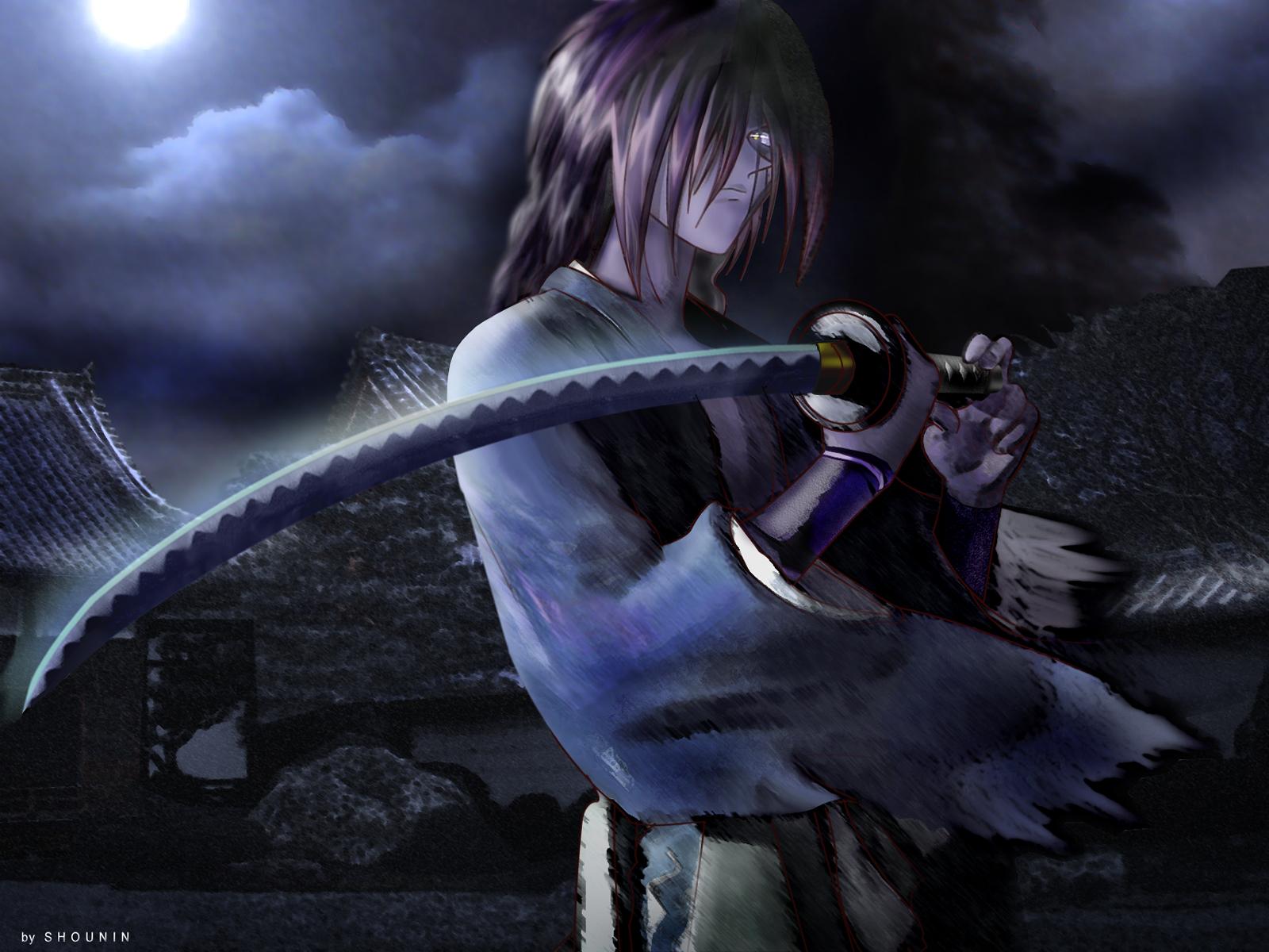 Самурай икс аниме игры 8 фотография
