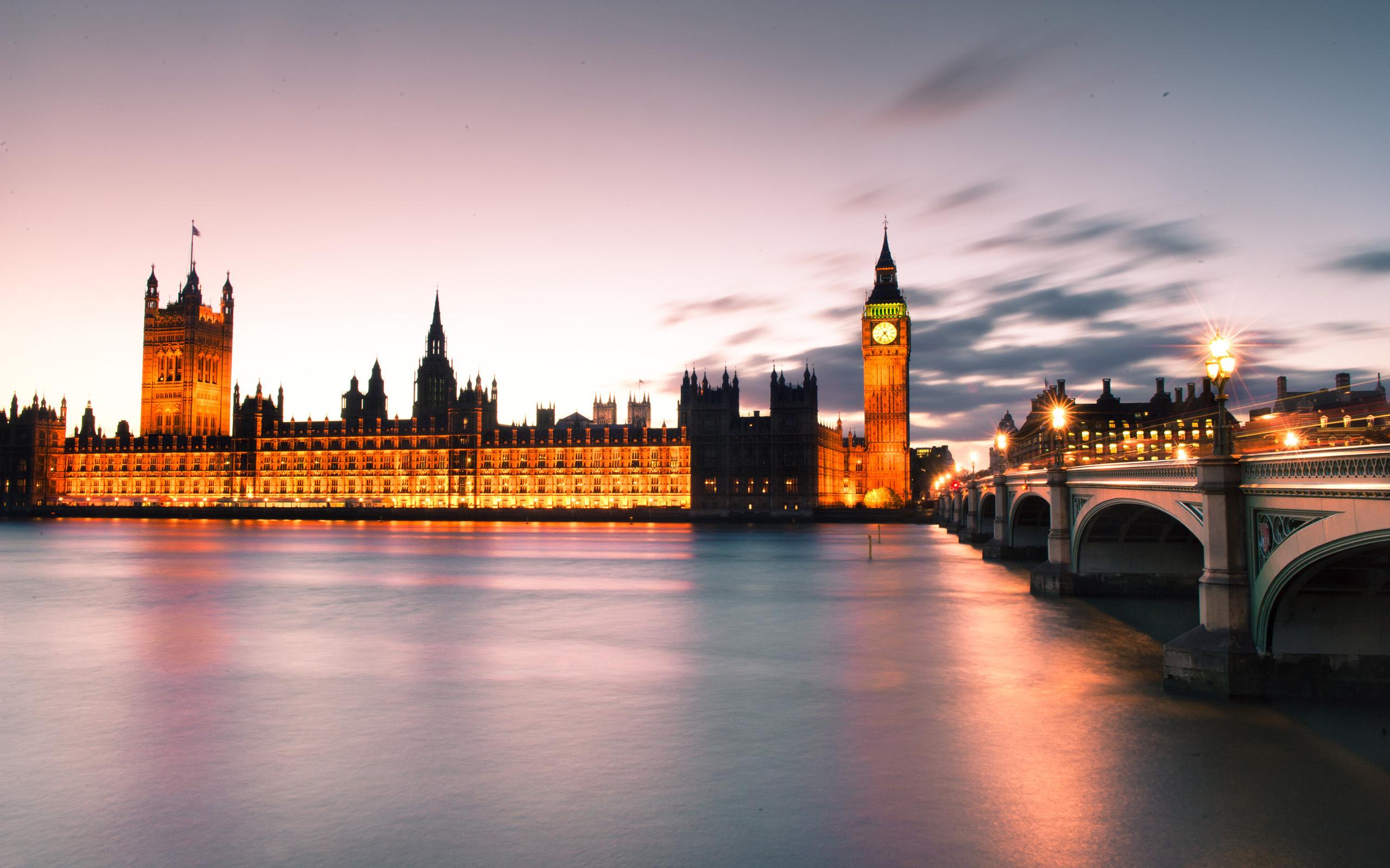 город лондон высота закат река темза бесплатно