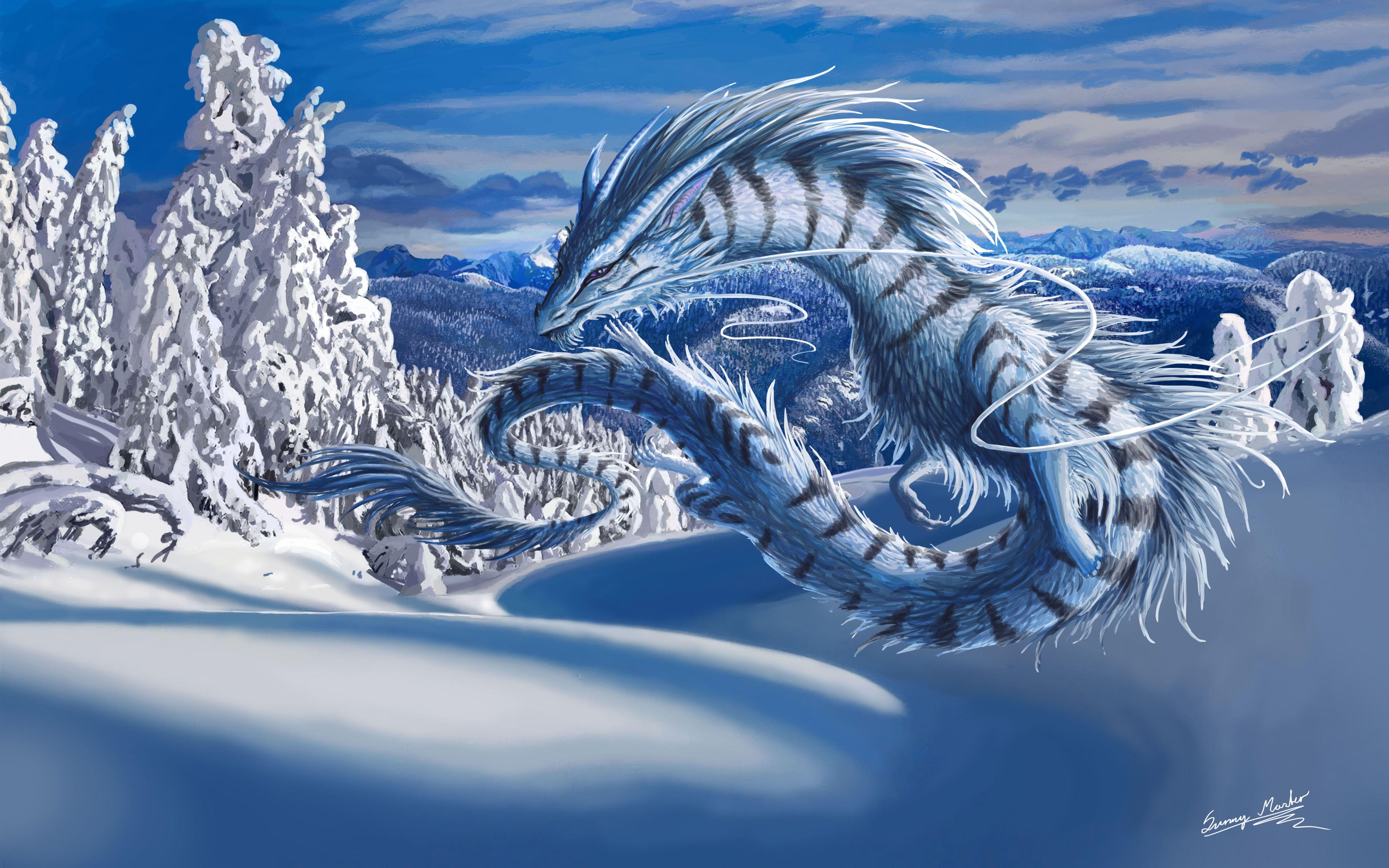 зима, пробки, ледниковый период, машины, фэнтези  № 1653924 бесплатно