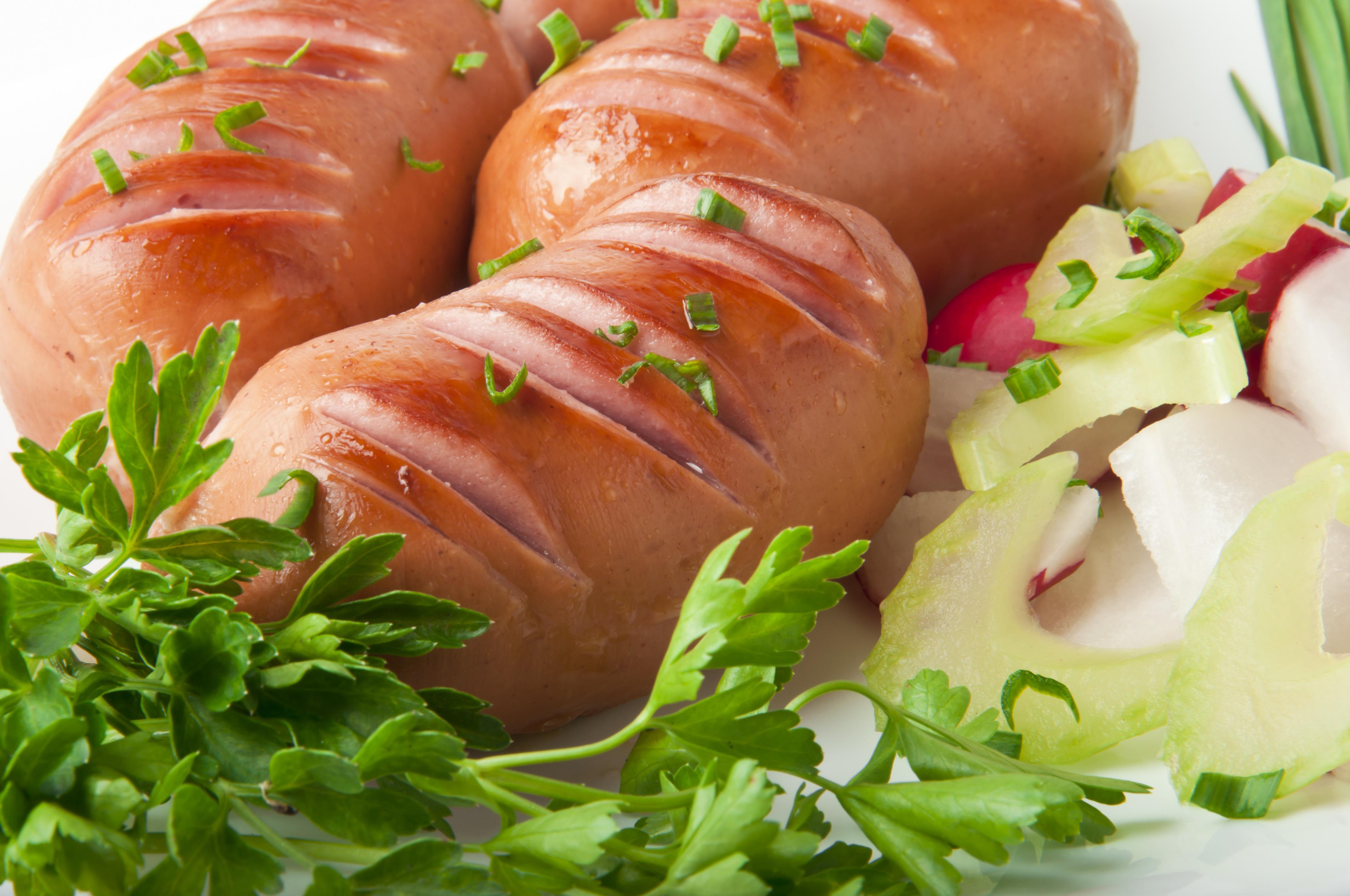 еда колбаса сосиски мясо салат  № 2121853 без смс