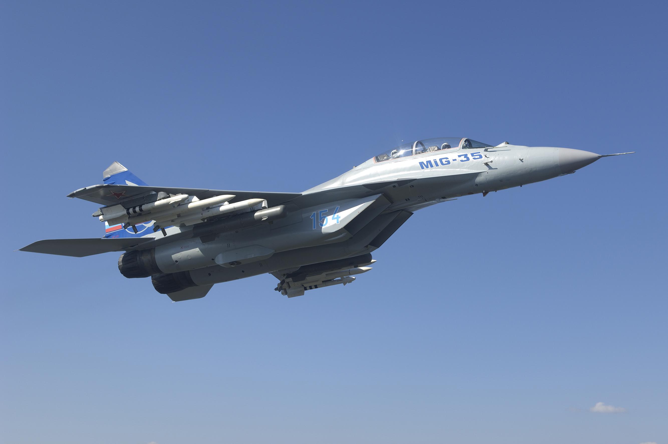 самолет ВВС РФ МиГ-35 Микоян  № 3741501  скачать