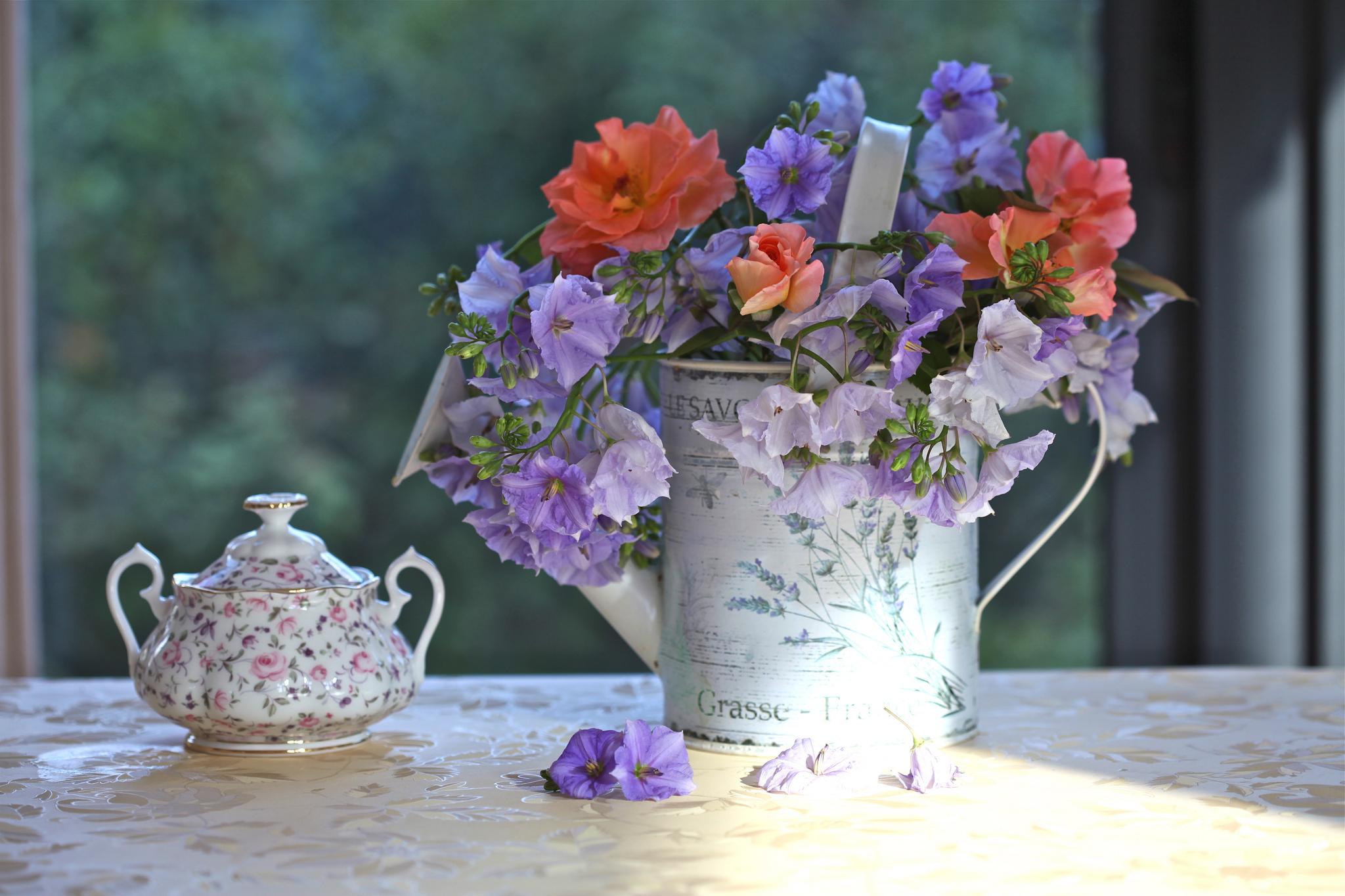 цветы ваза букет посуда flowers vase bouquet dishes  № 1733806 без смс