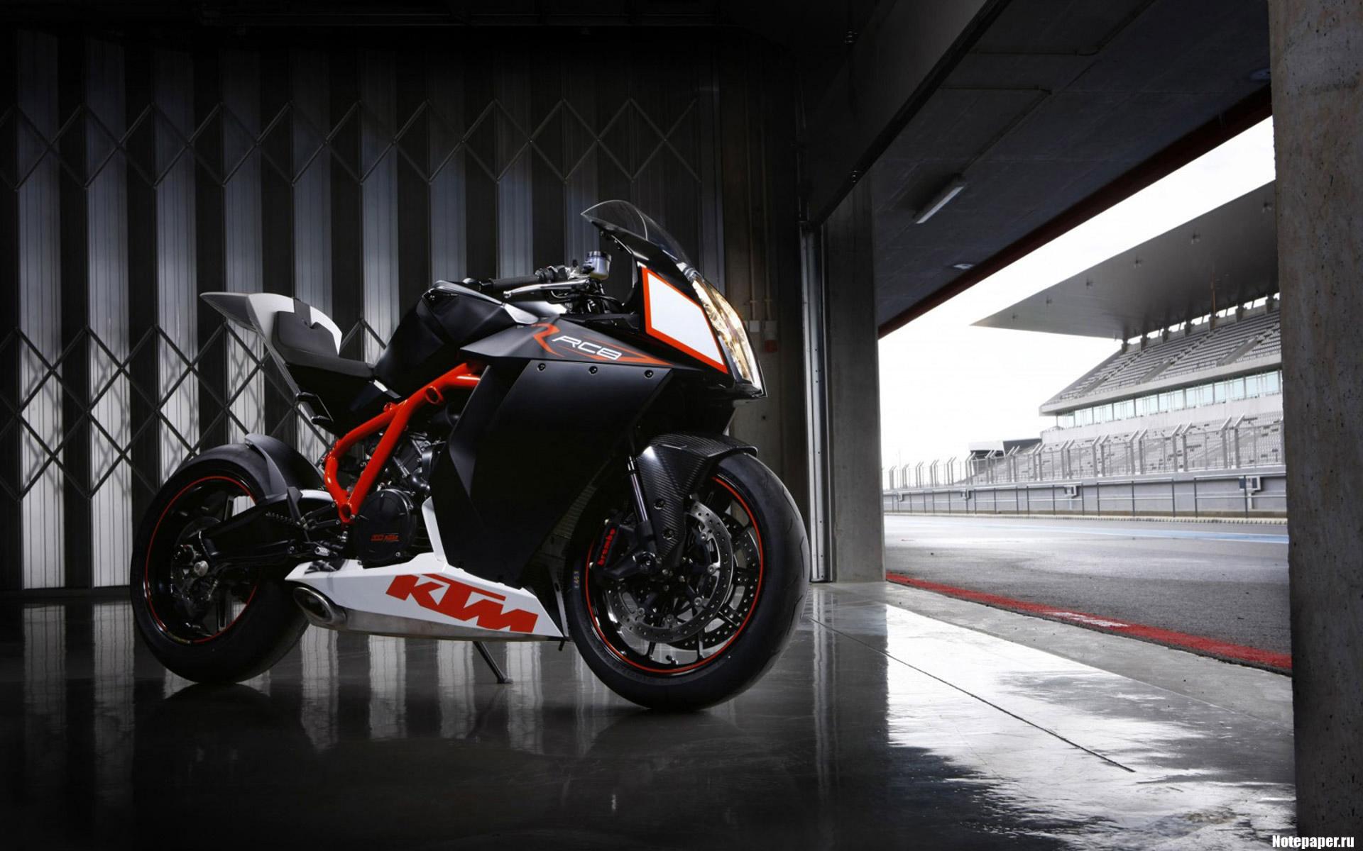 Обои KTM RC8, Мотоцикл, супербайк. Мотоциклы foto 15