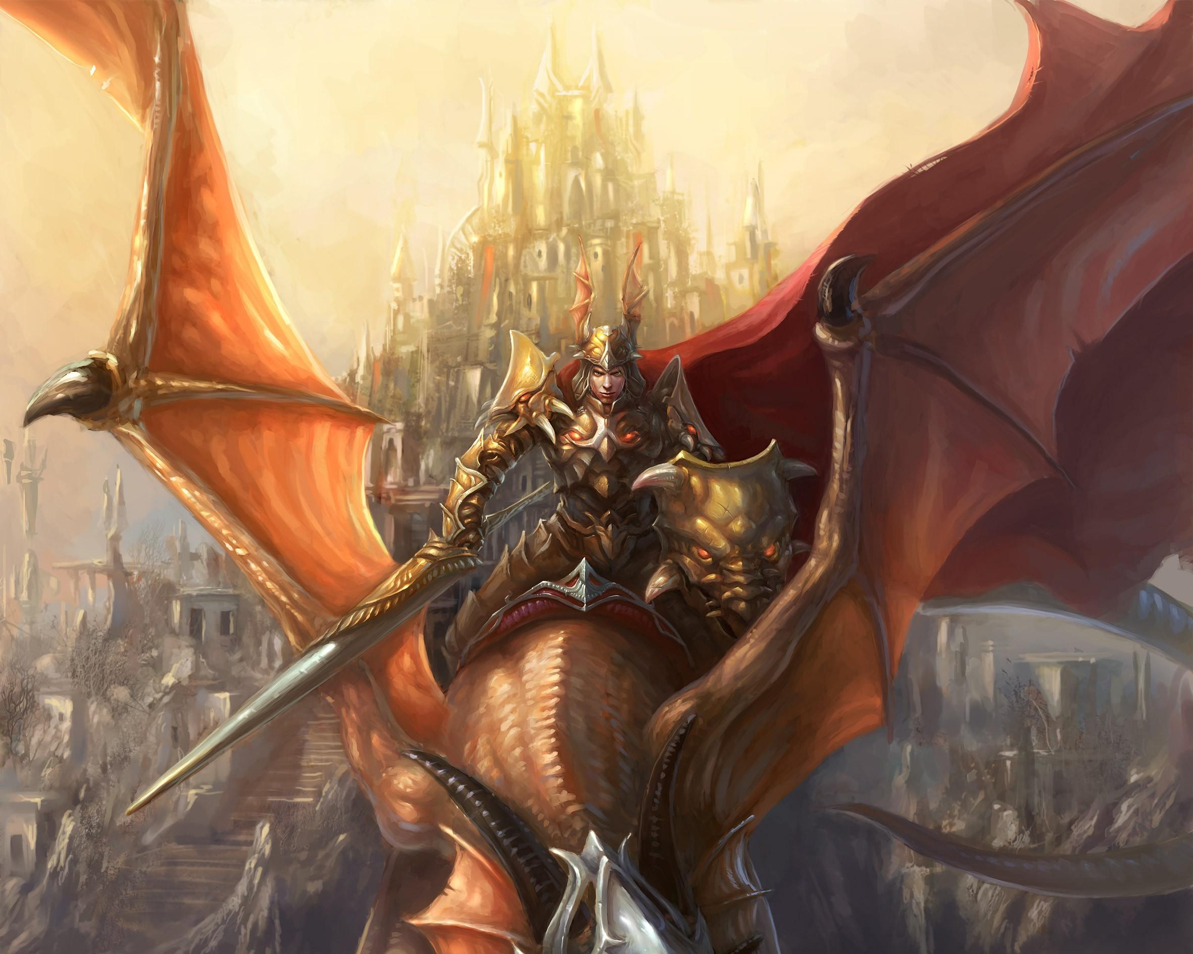 Рыцарь с драконом скачать