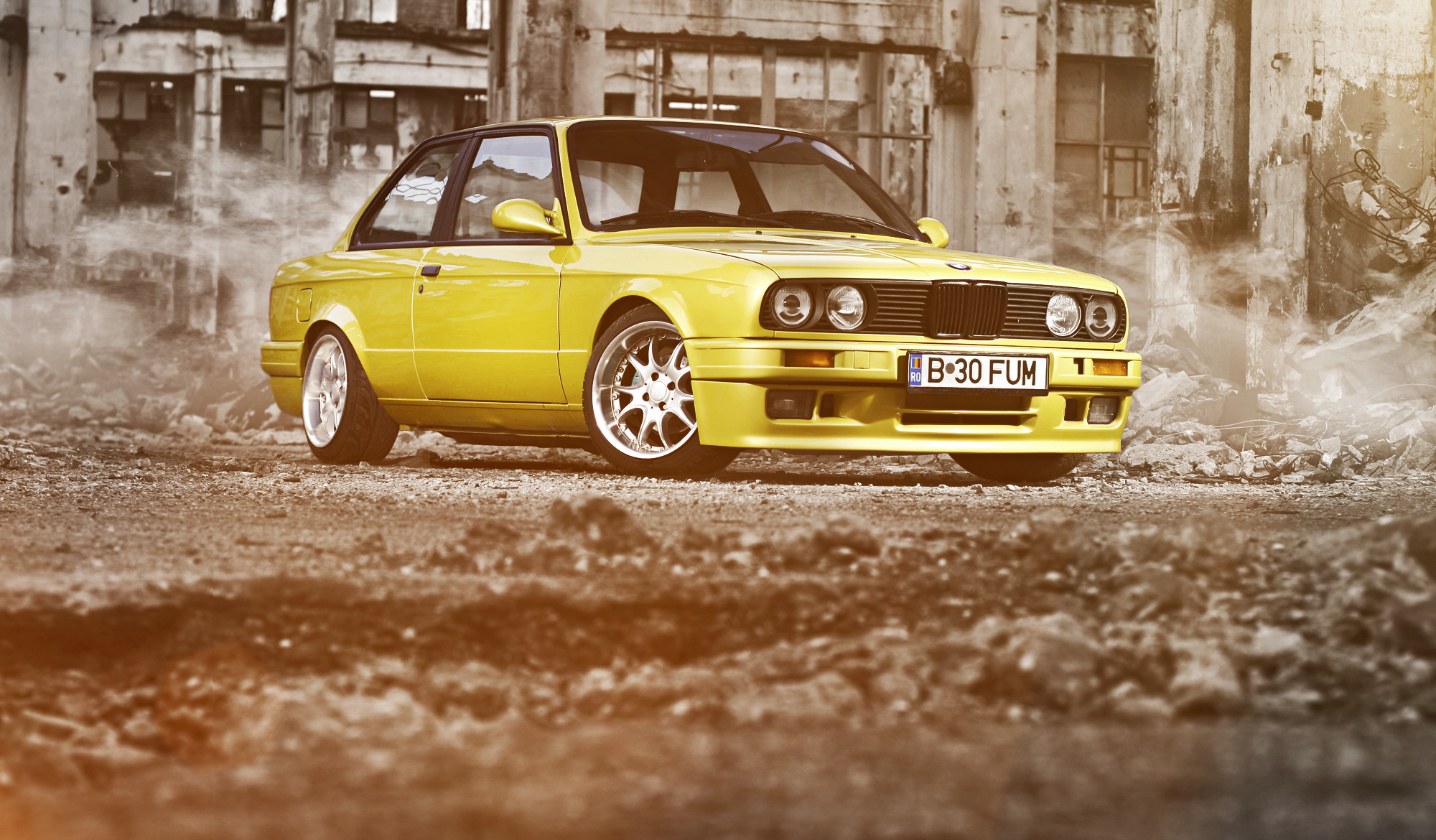 BMW M3 Желтое  № 844812 без смс