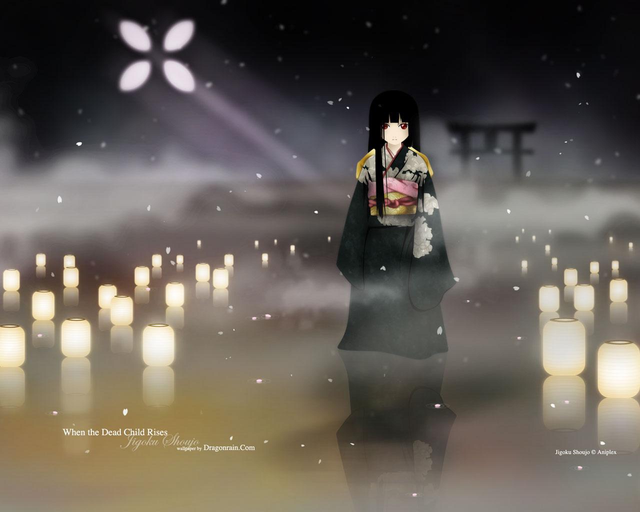 аниме картинки адская девочка: