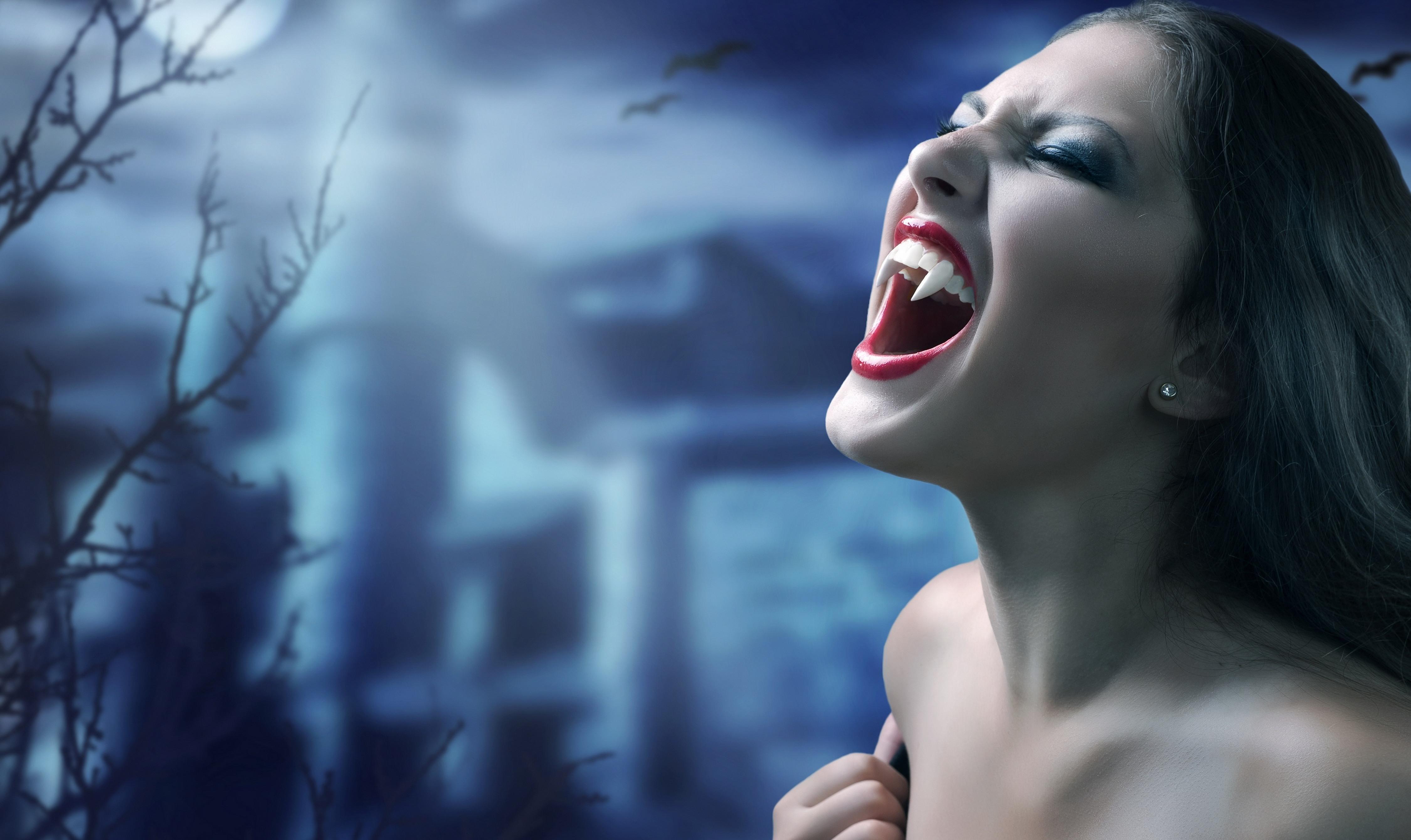 вампиры графика: