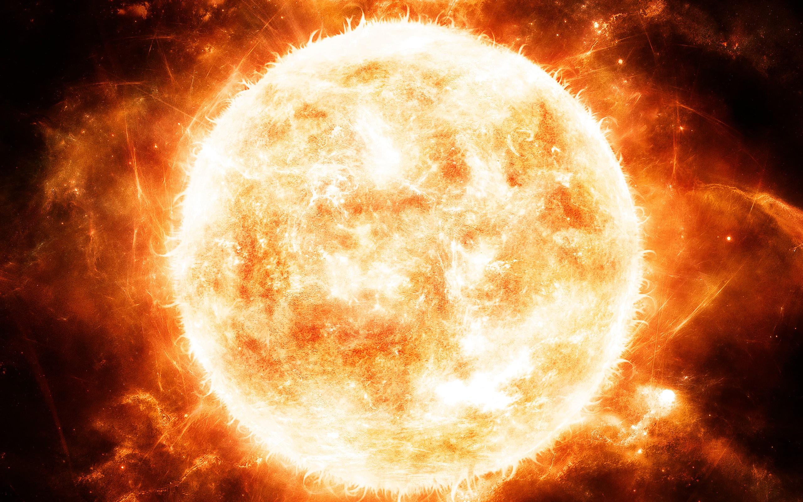 Обои кот солнце звезды картинки на рабочий стол на тему Космос - скачать загрузить