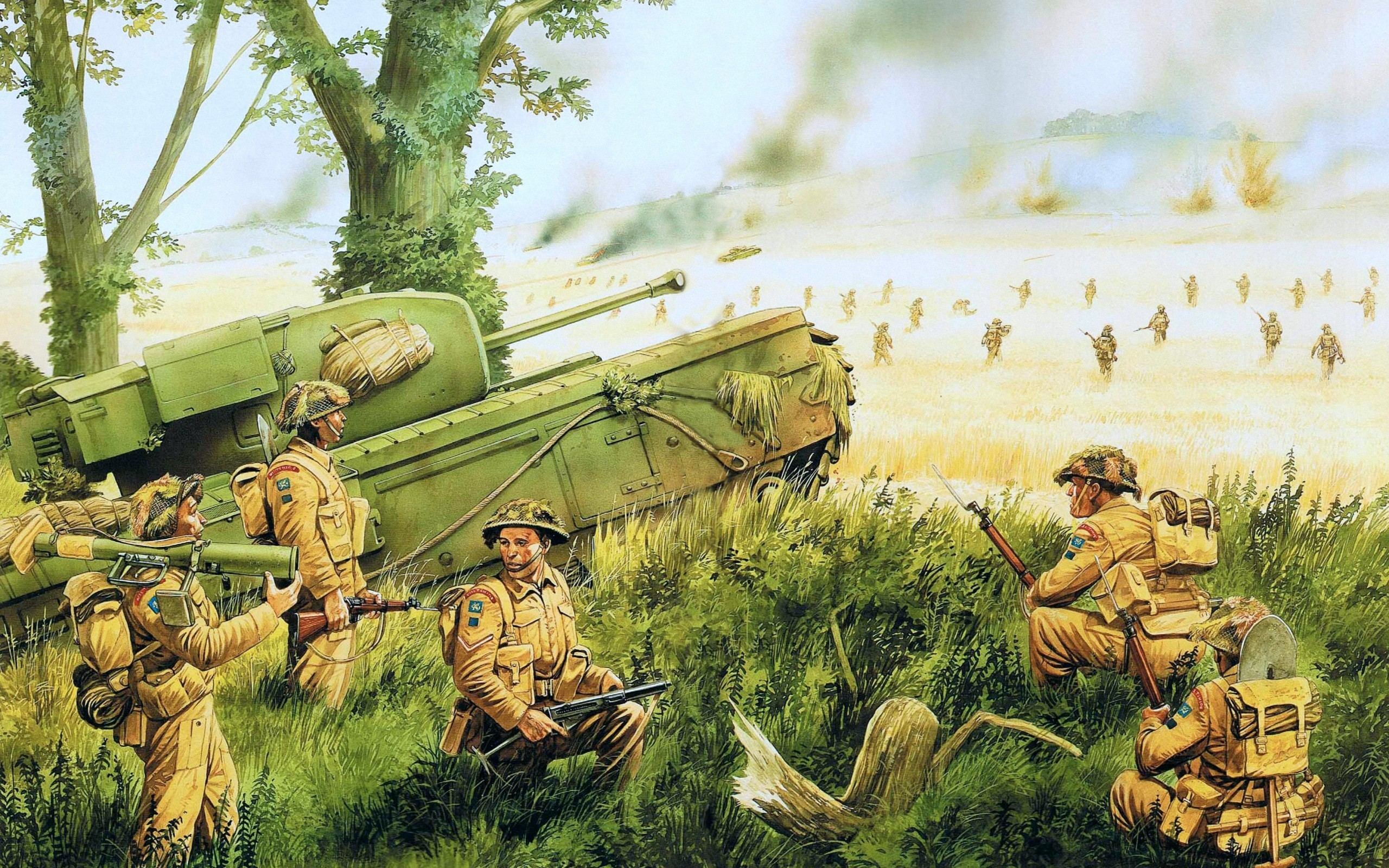 army world war ii and british The british army in world war ii by 1945 britain had failed to produce any tank truely fit to fight the germans after more than five years of war.