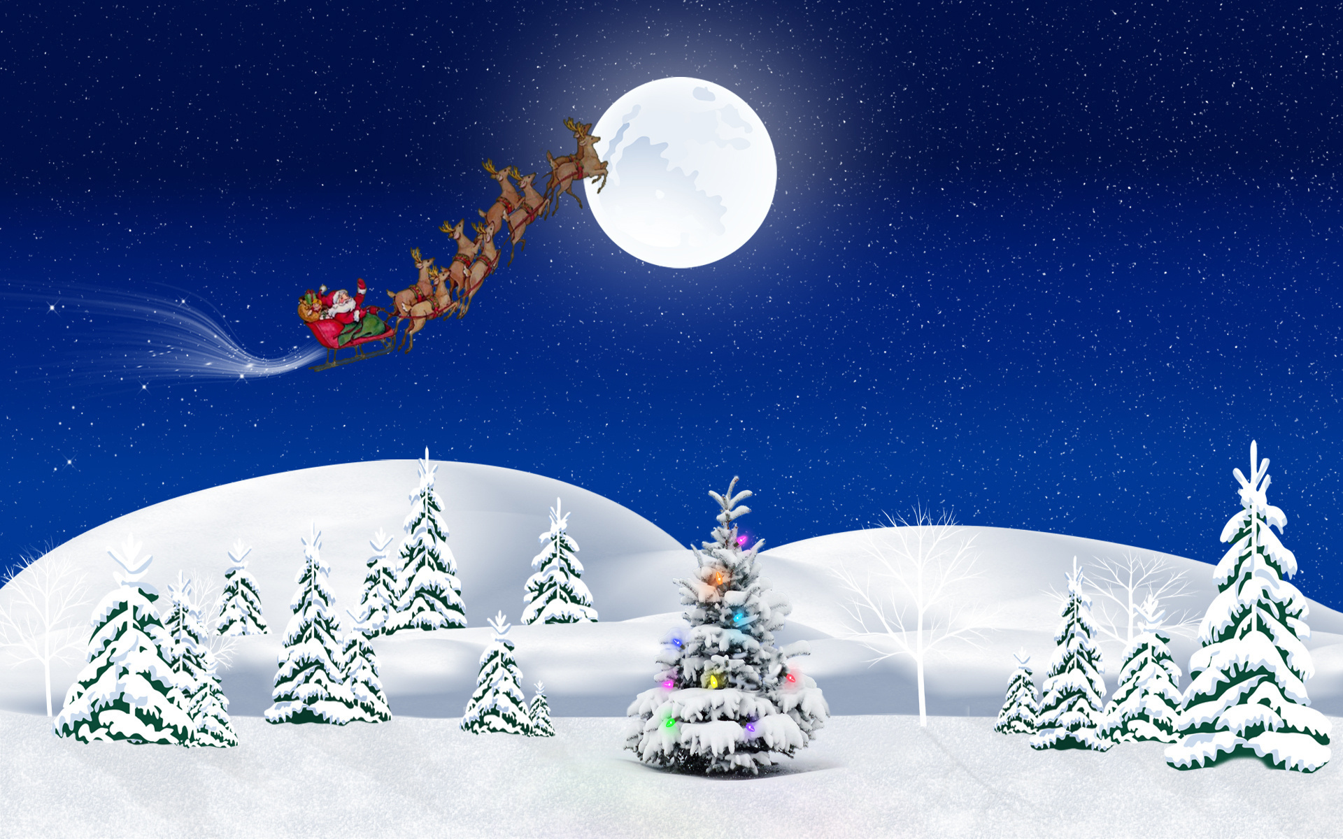 праздник поезд игрушка ель рождество новый год загрузить