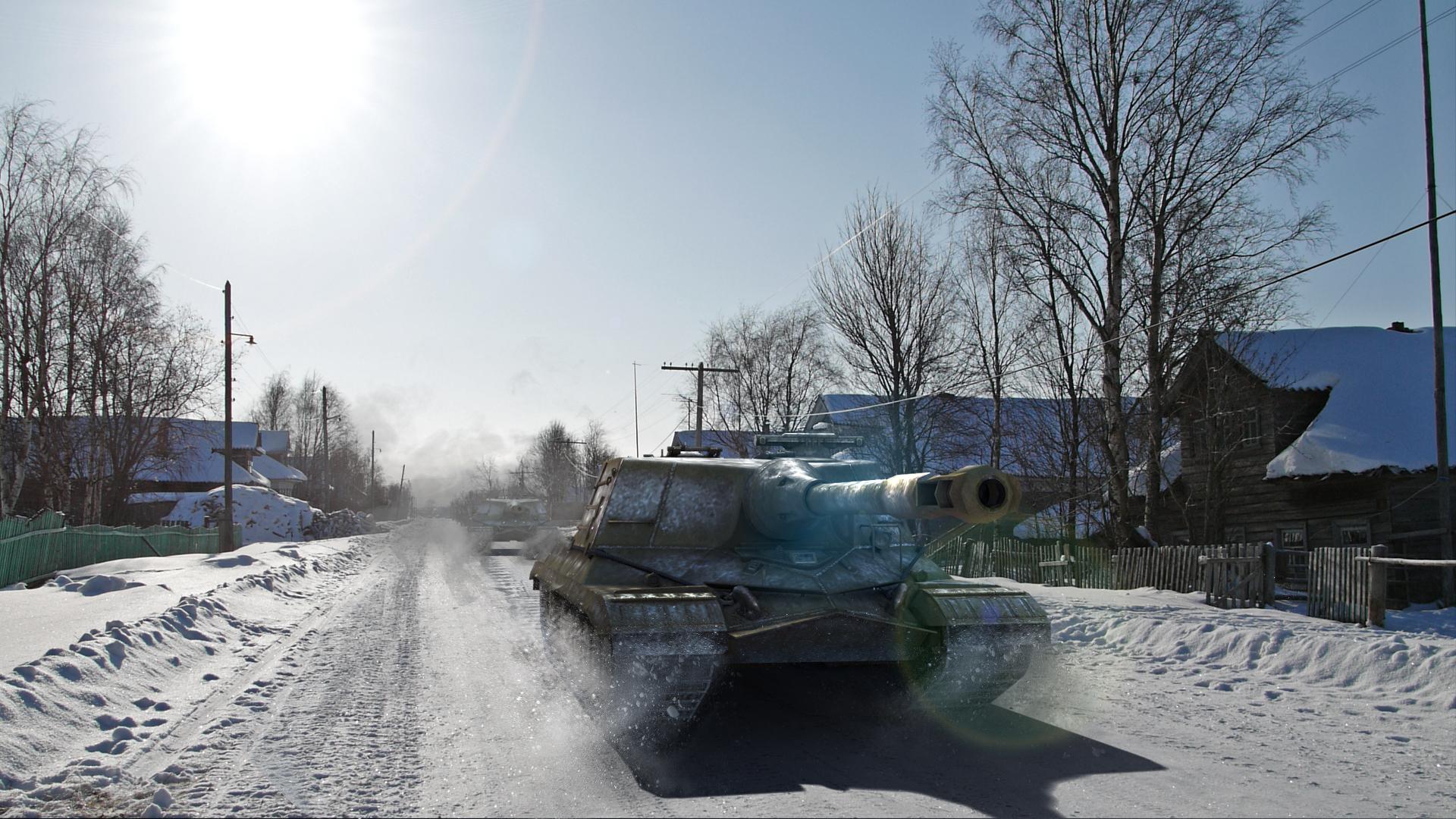 Ка��инка world of tanks Танки object 268 Зима 3d Г�а�ика