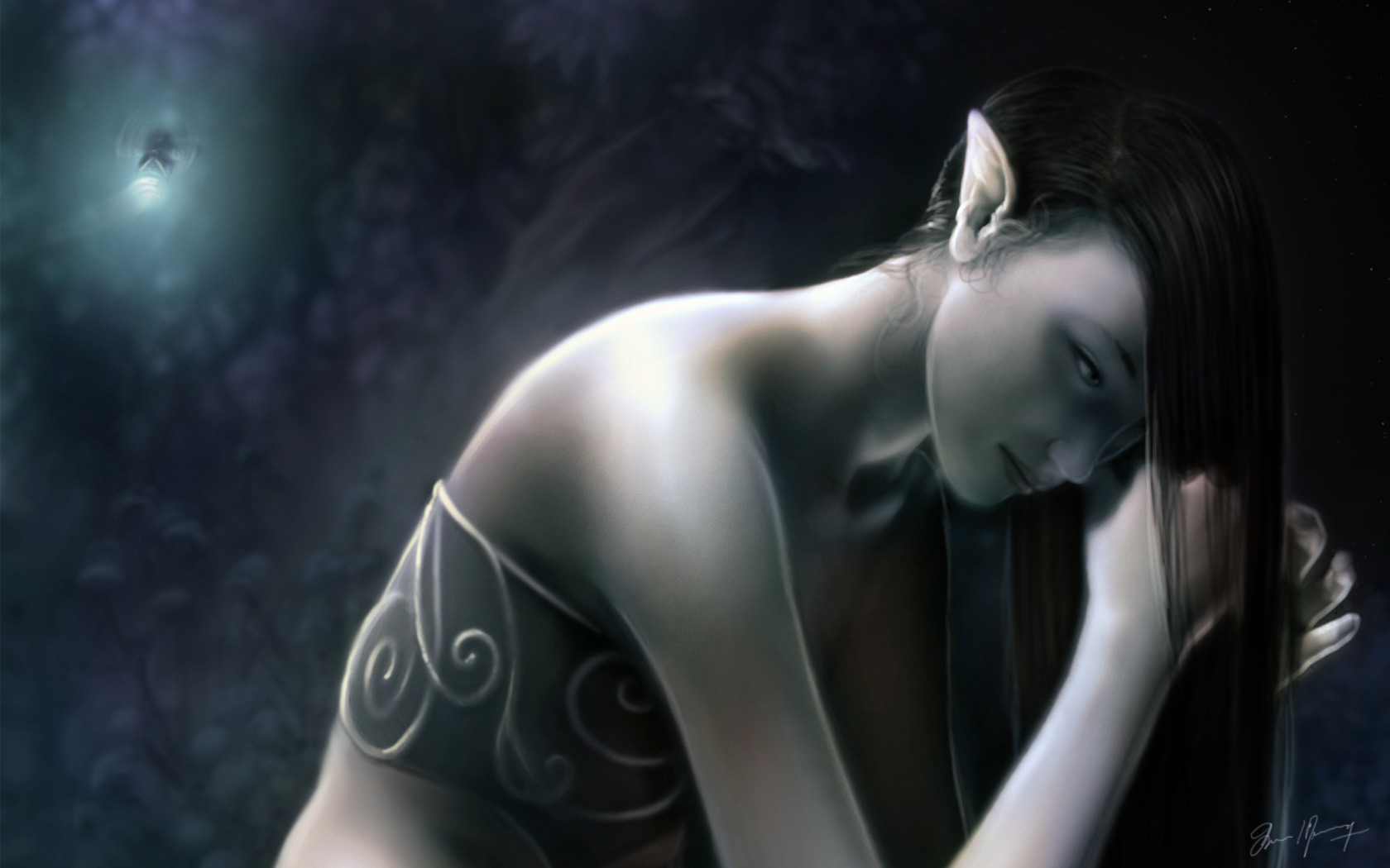 Gallery the dark elf lover 3d pic  porn scene