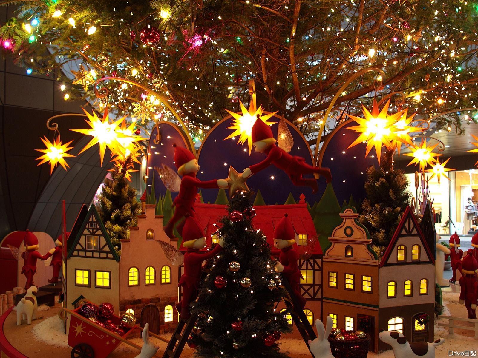 праздник поезд игрушка ель рождество новый год скачать