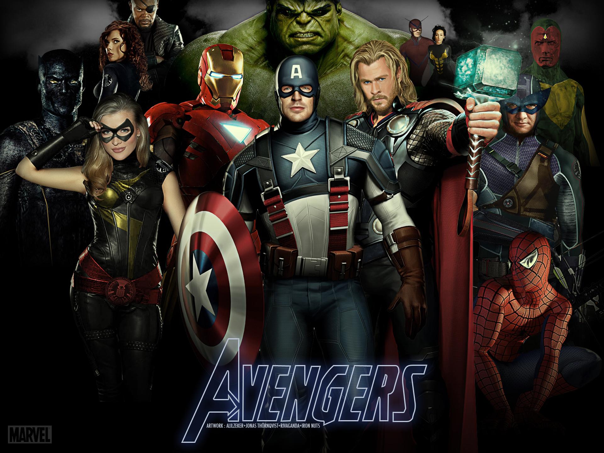 Команда Мстителей без смс
