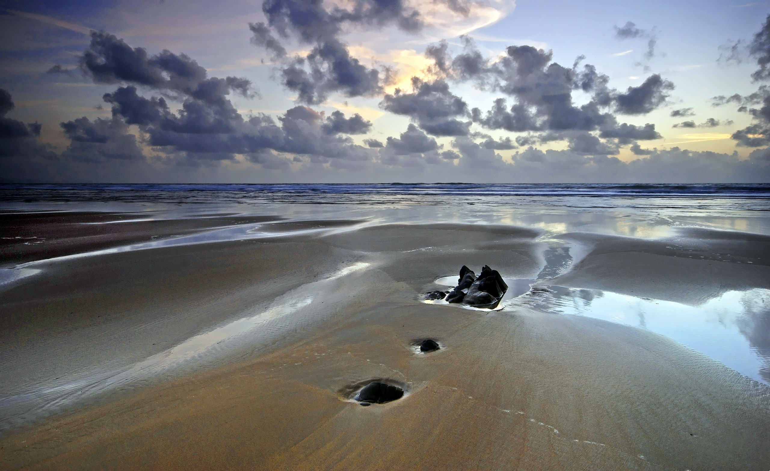 Отлив на берегу без смс