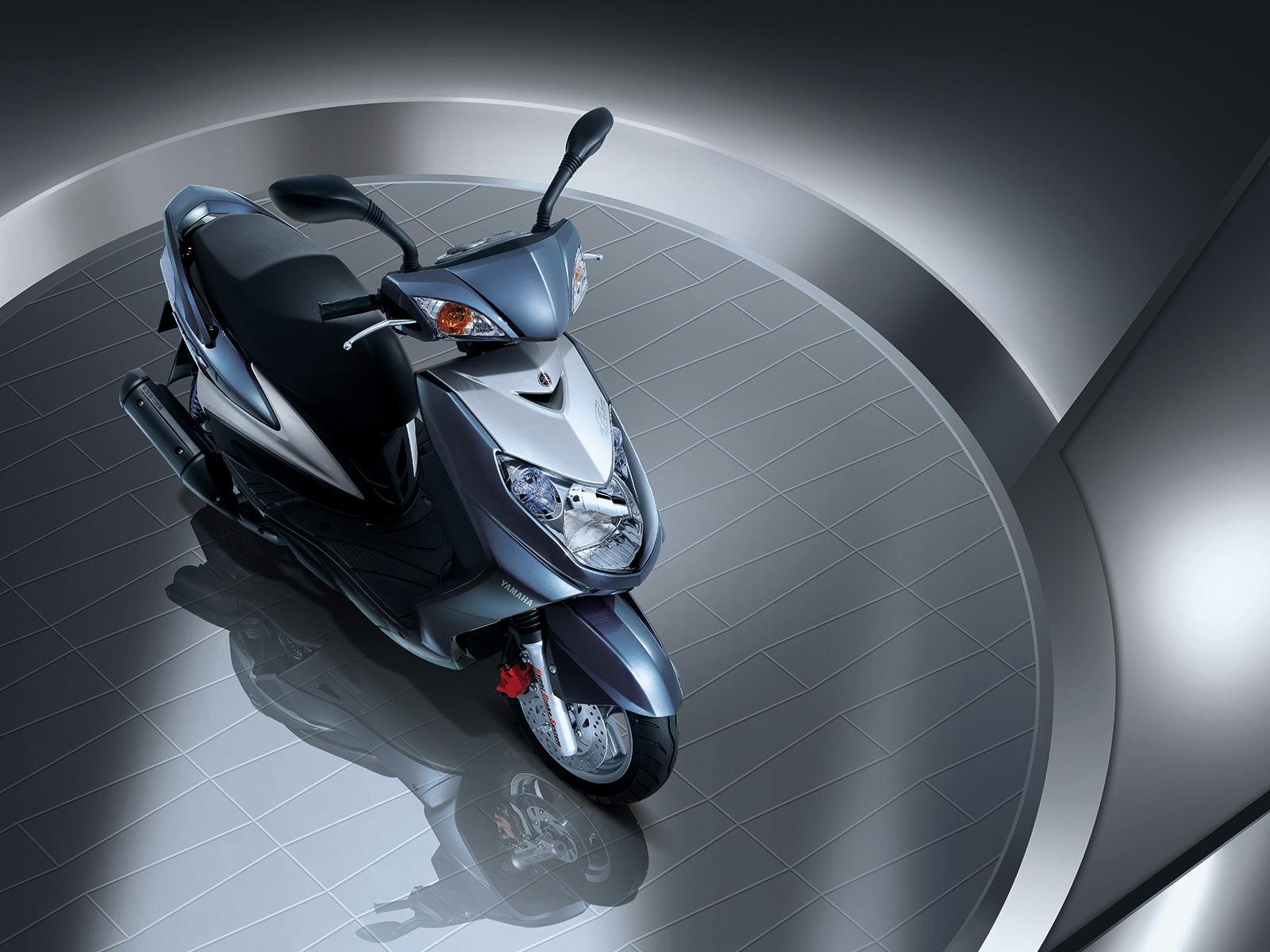 Фотография Скутер мотоцикл Мотороллер Мотоциклы