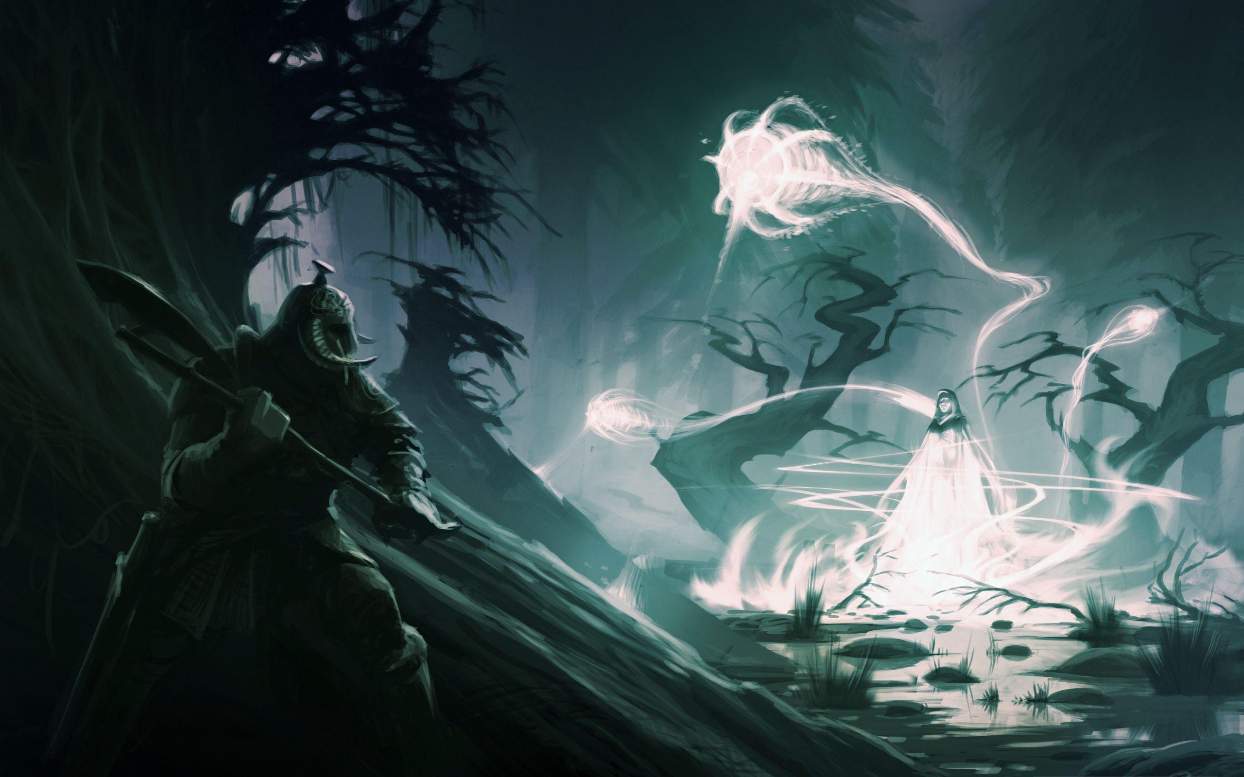 Маг, призрак, фэнтези без смс