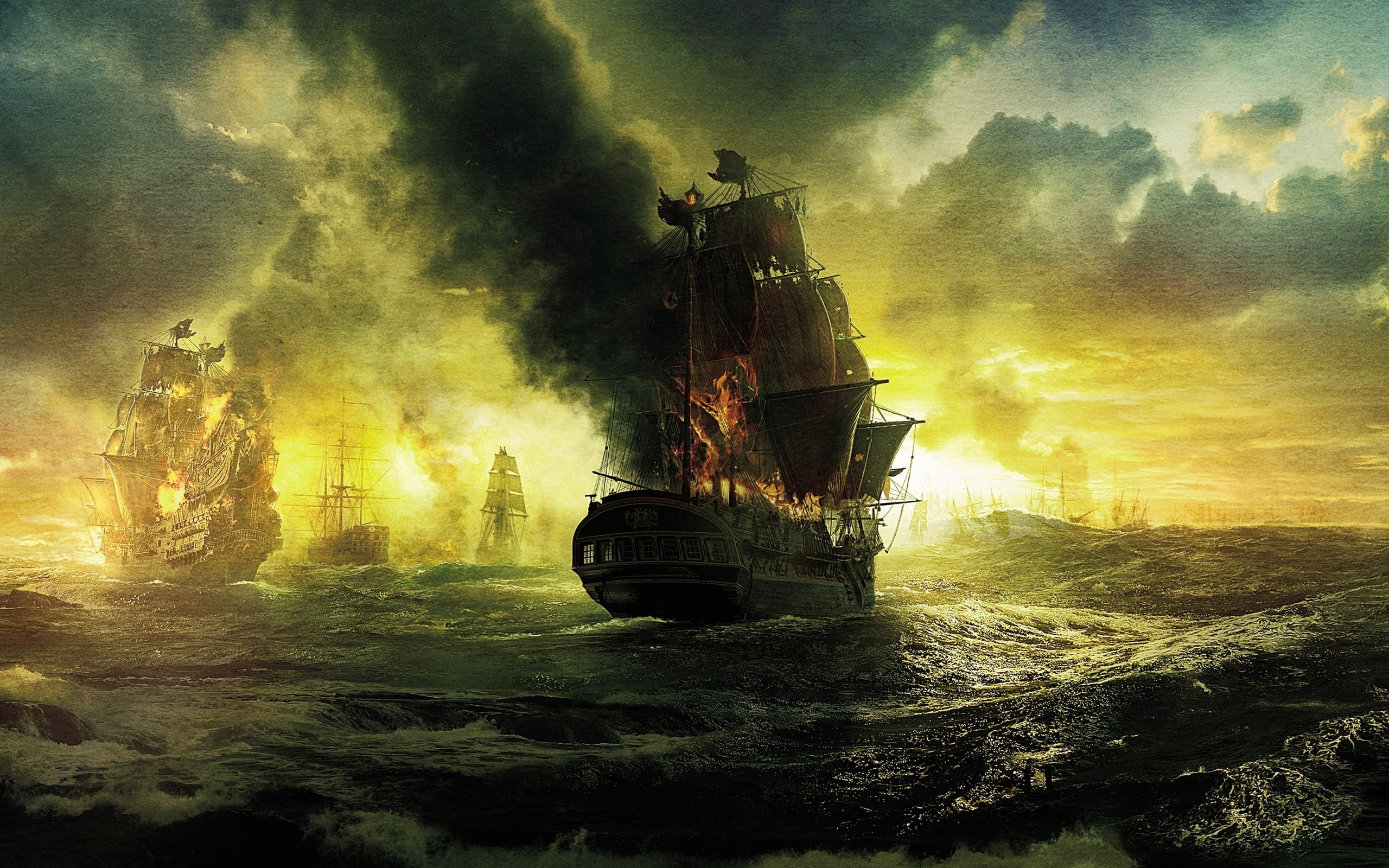 обои пираты: