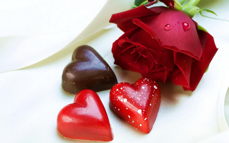 сердце в розах без смс