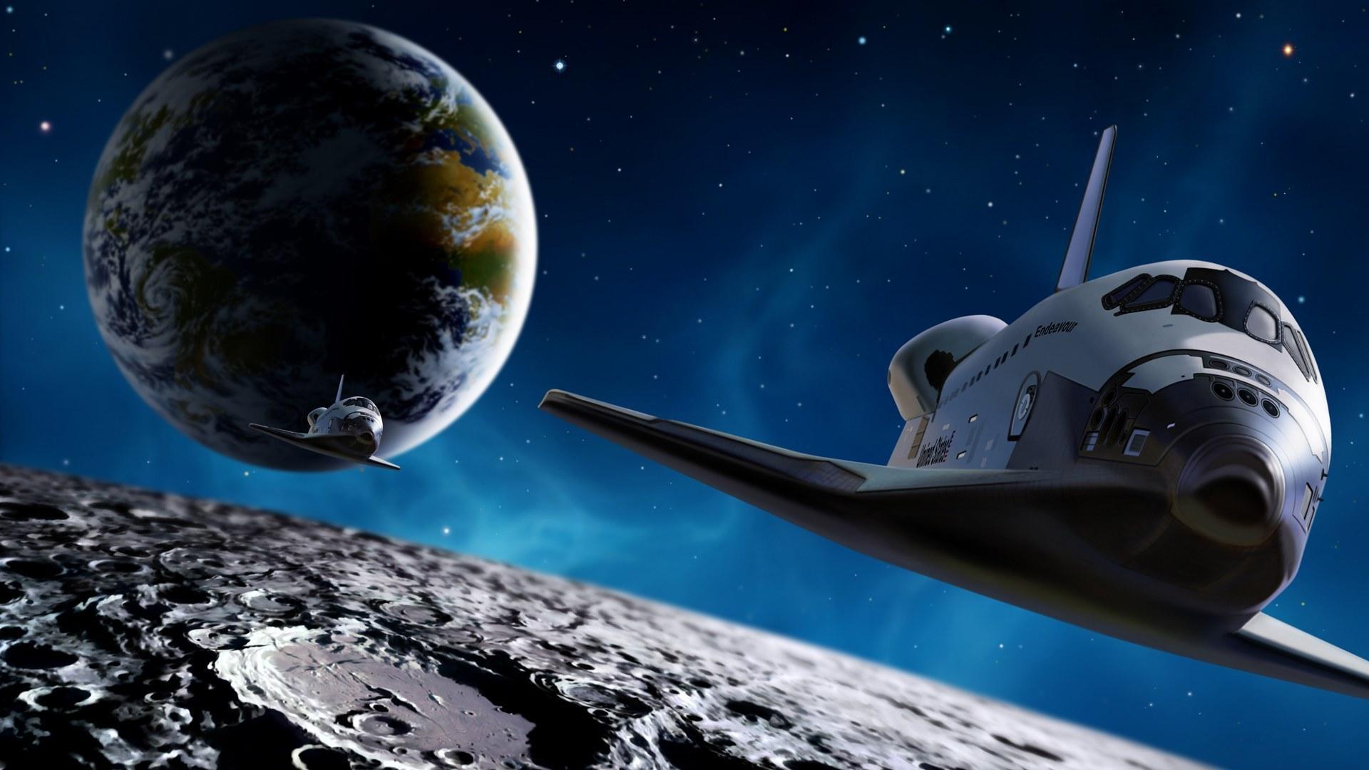 Обои космический корабль картинки на рабочий стол на тему Космос - скачать бесплатно