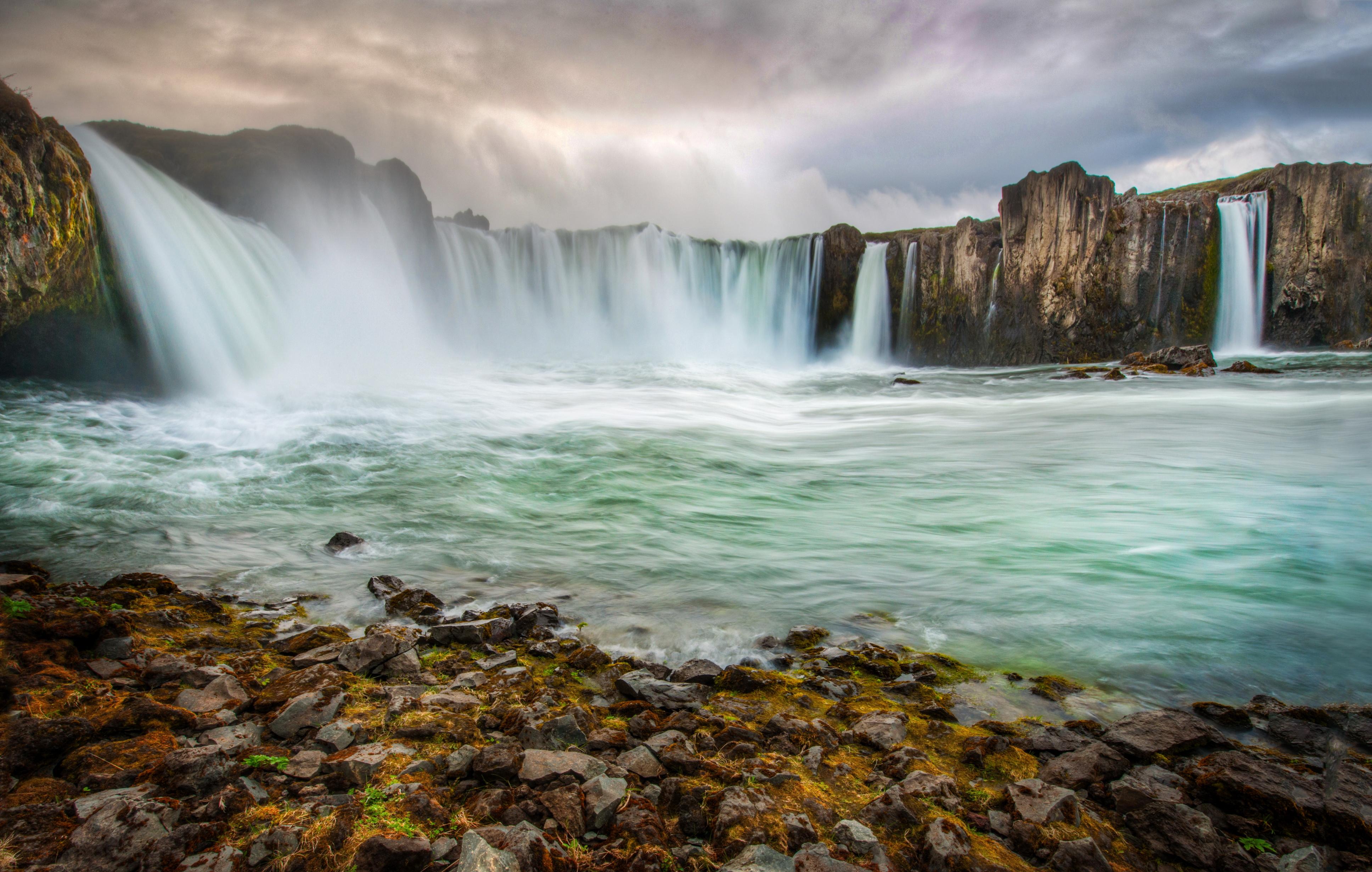 водопад скала бесплатно