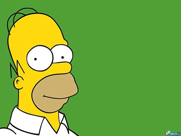 Рхема вышивки Гомер Симпсон: