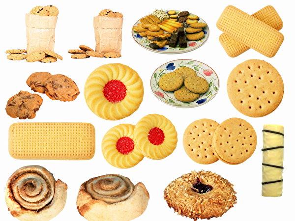 Скачать картинки пирожные, торты, сухарики, печенье, ржаной хлеб, клецки